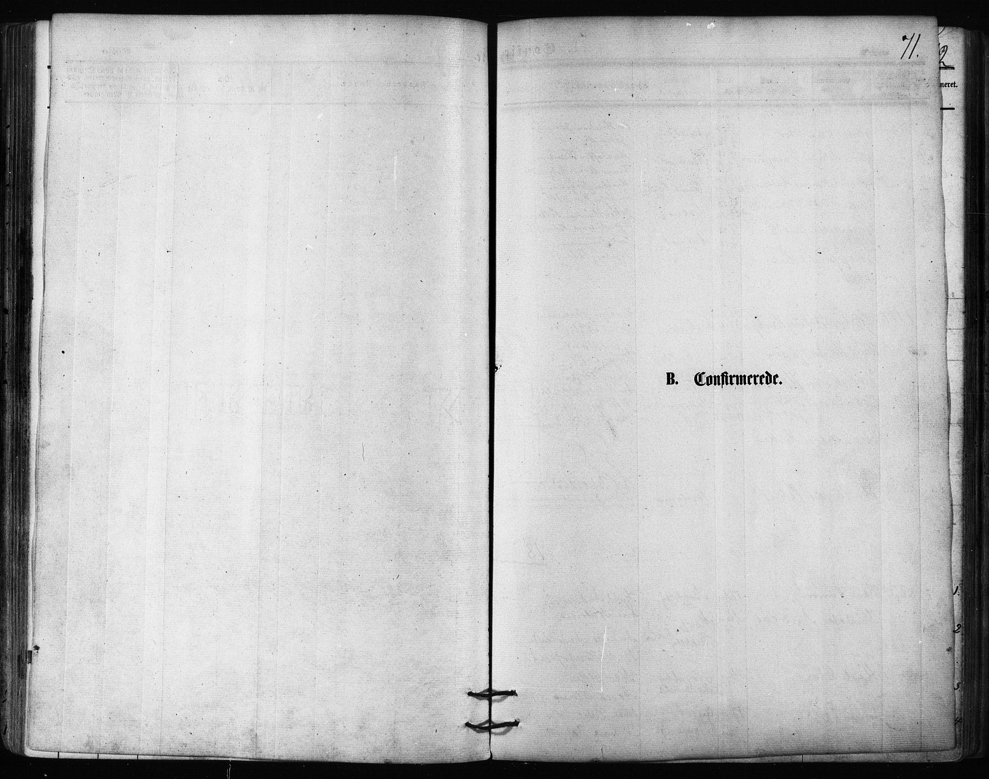 SATØ, Balsfjord sokneprestembete, Parish register (official) no. 2, 1871-1886, p. 71