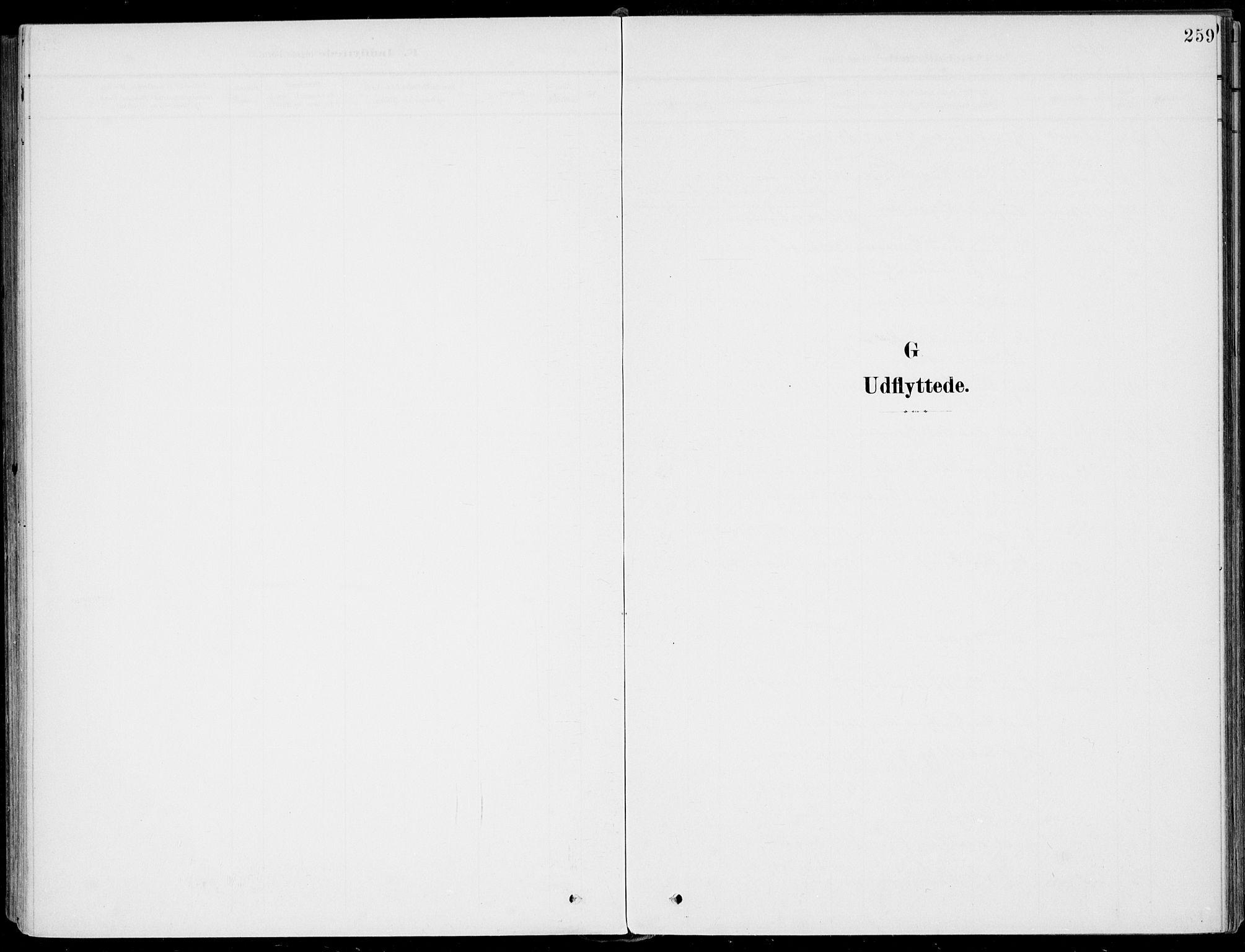 SAKO, Sigdal kirkebøker, F/Fb/L0002: Parish register (official) no. II 2, 1901-1914, p. 259