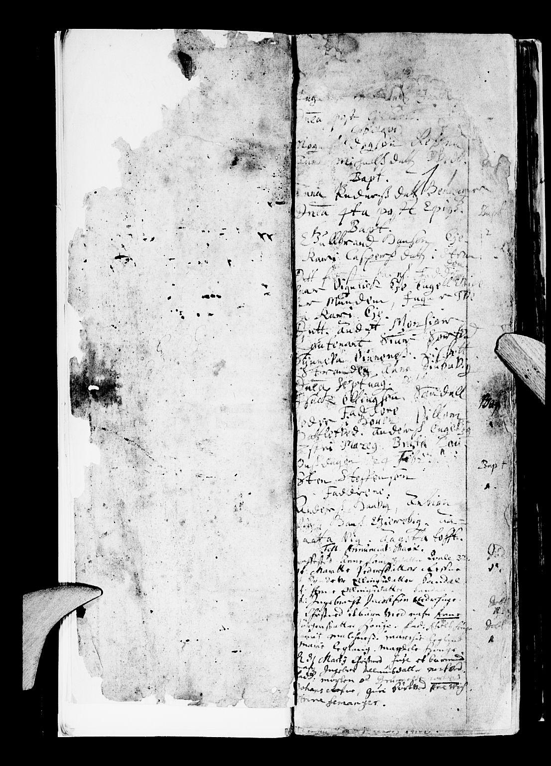 SAB, Os sokneprestembete*, Parish register (official) no. A 5, 1669-1760, p. 1