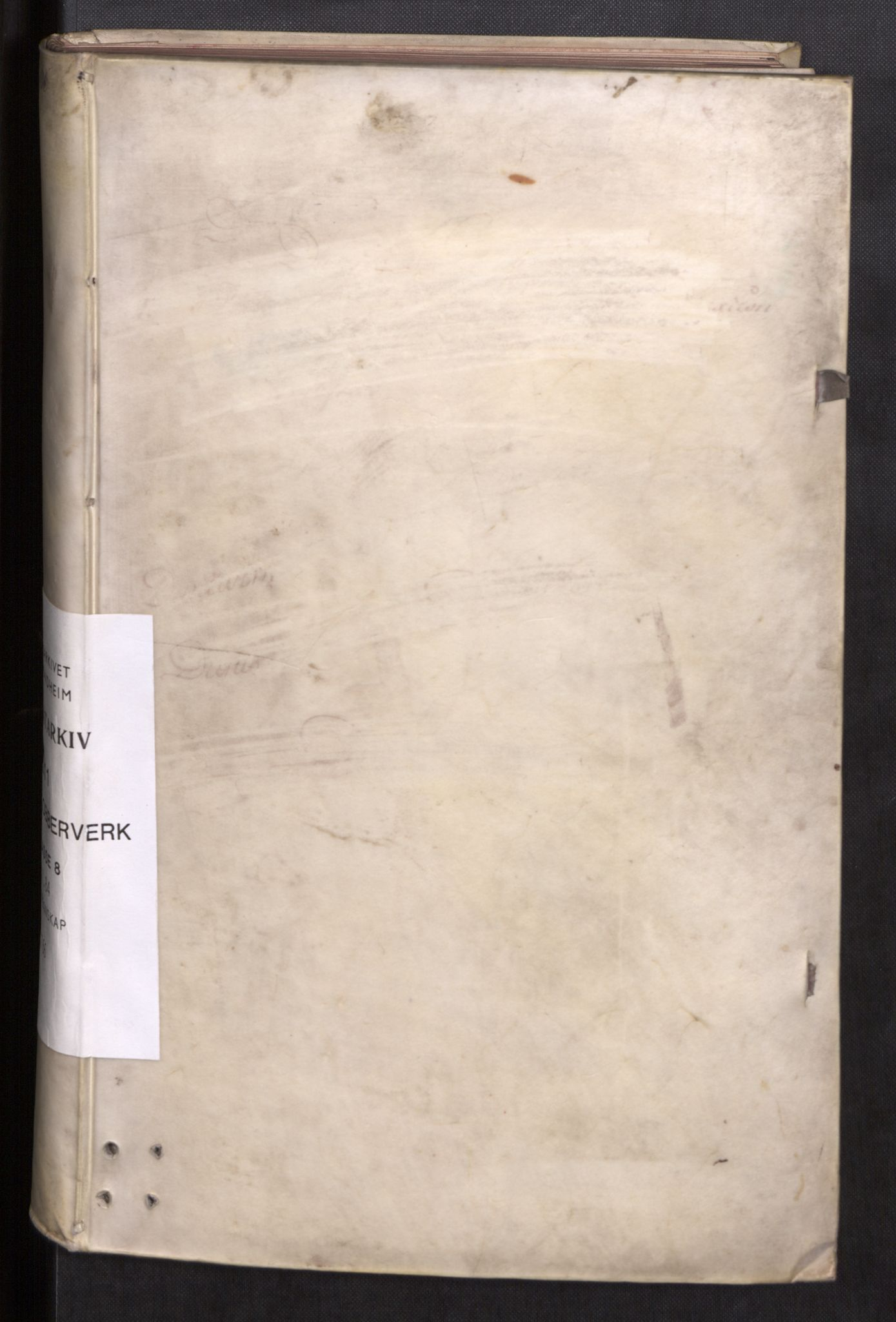 SAT, Røros kobberverk, 08/L0085: 8.1.84 Bergregnskap, 1766