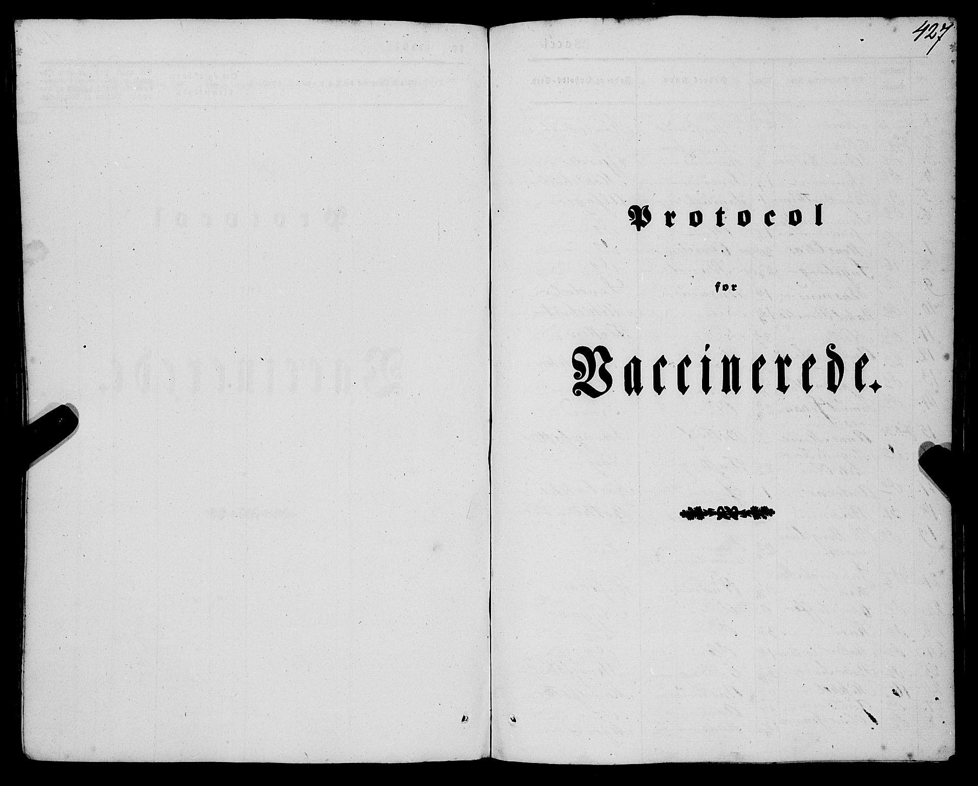 SAB, Eid Sokneprestembete, H/Haa: Parish register (official) no. A 7, 1844-1858, p. 427