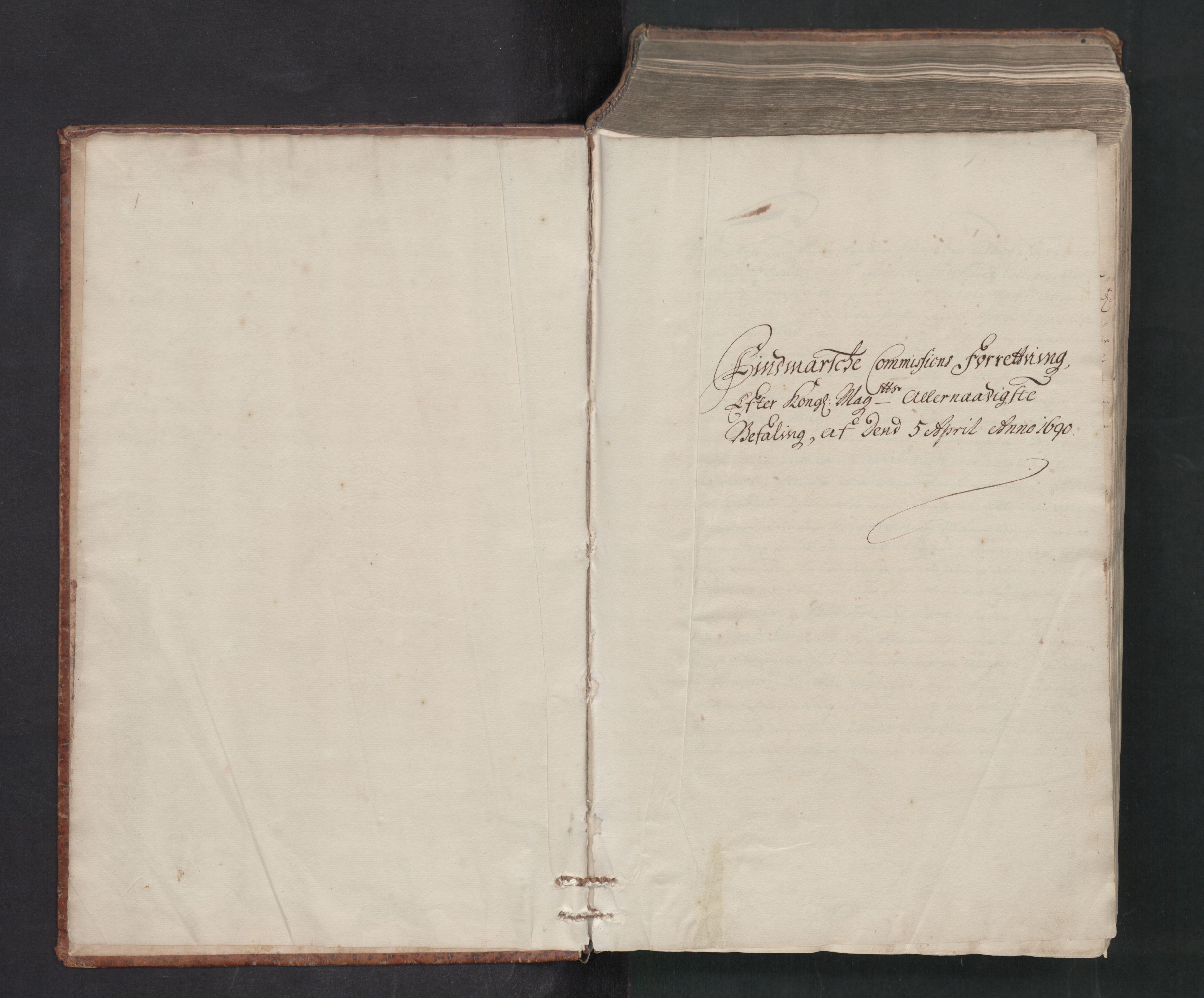 RA, Danske Kanselli, Skapsaker, F/L0081: Skap 15, pakke 125D, 1690-1691