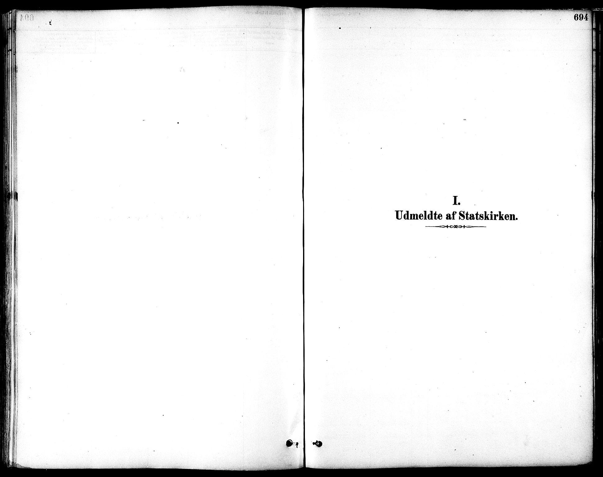 SAT, Ministerialprotokoller, klokkerbøker og fødselsregistre - Sør-Trøndelag, 601/L0058: Parish register (official) no. 601A26, 1877-1891, p. 694