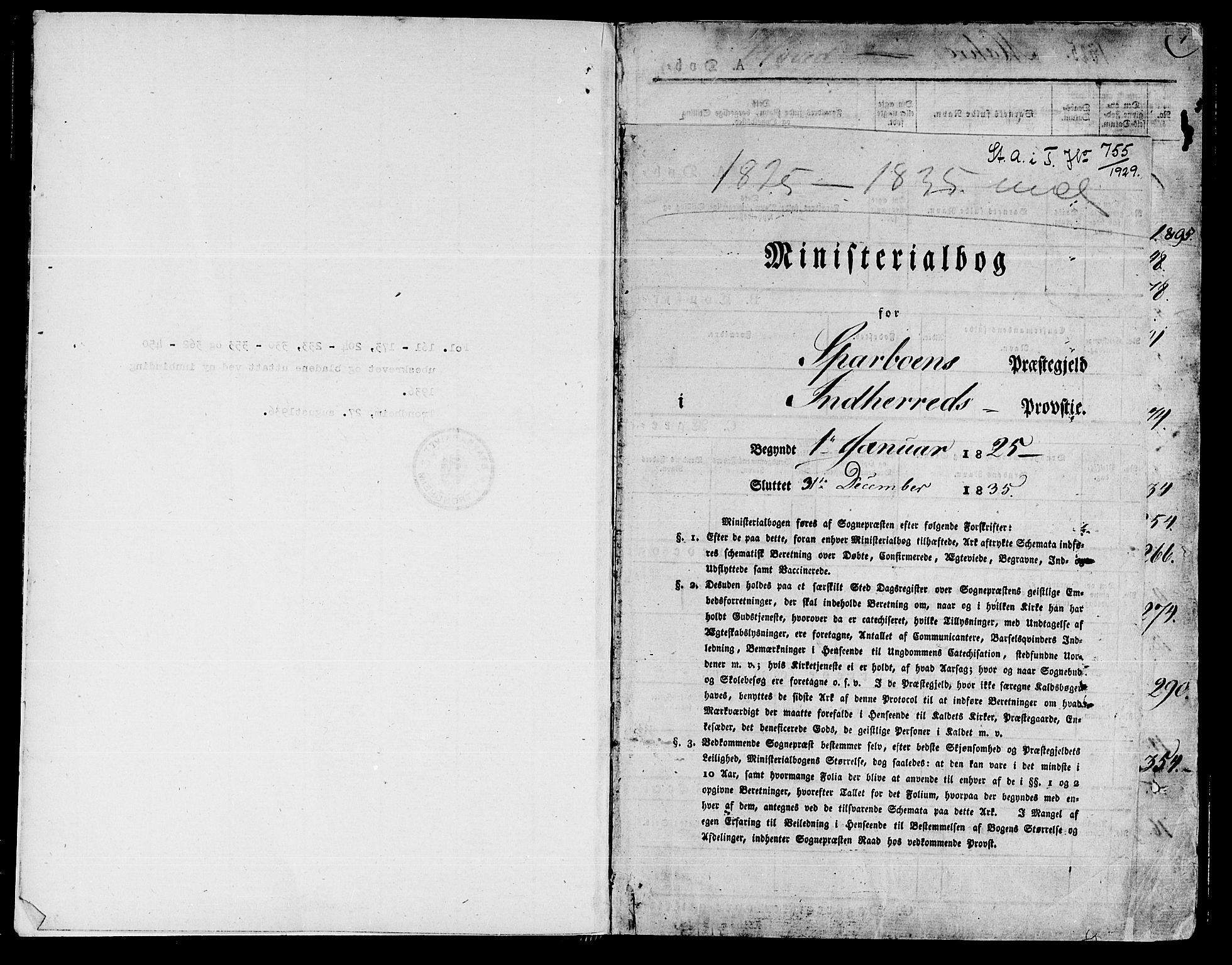 SAT, Ministerialprotokoller, klokkerbøker og fødselsregistre - Nord-Trøndelag, 735/L0336: Parish register (official) no. 735A05 /2, 1825-1835