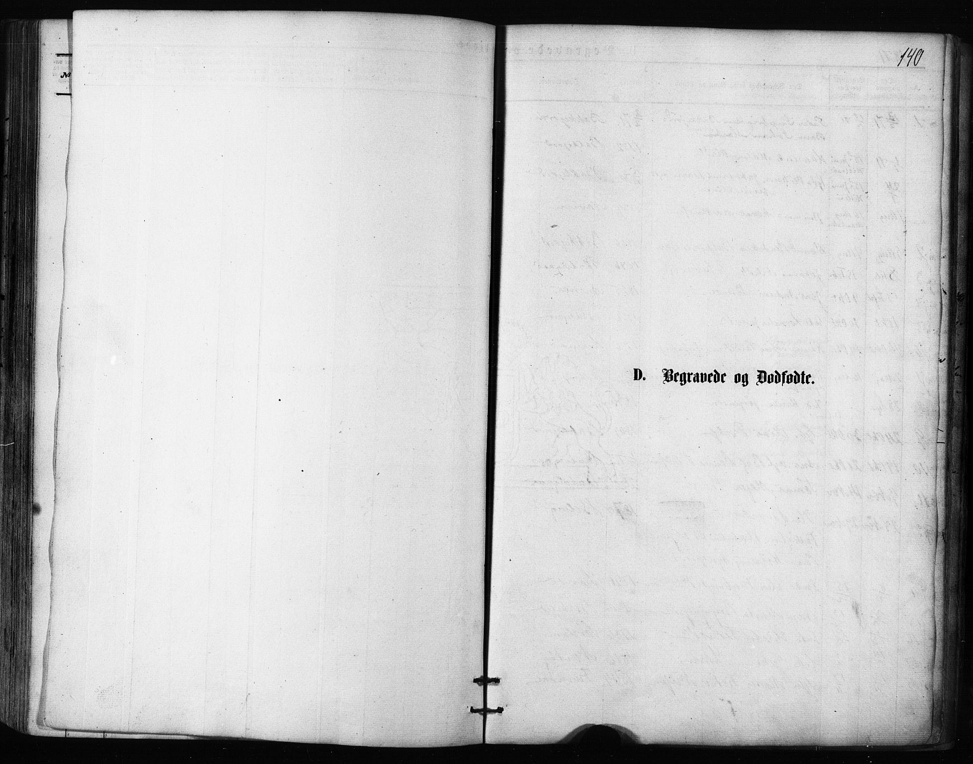 SATØ, Balsfjord sokneprestembete, Parish register (official) no. 2, 1871-1886, p. 140