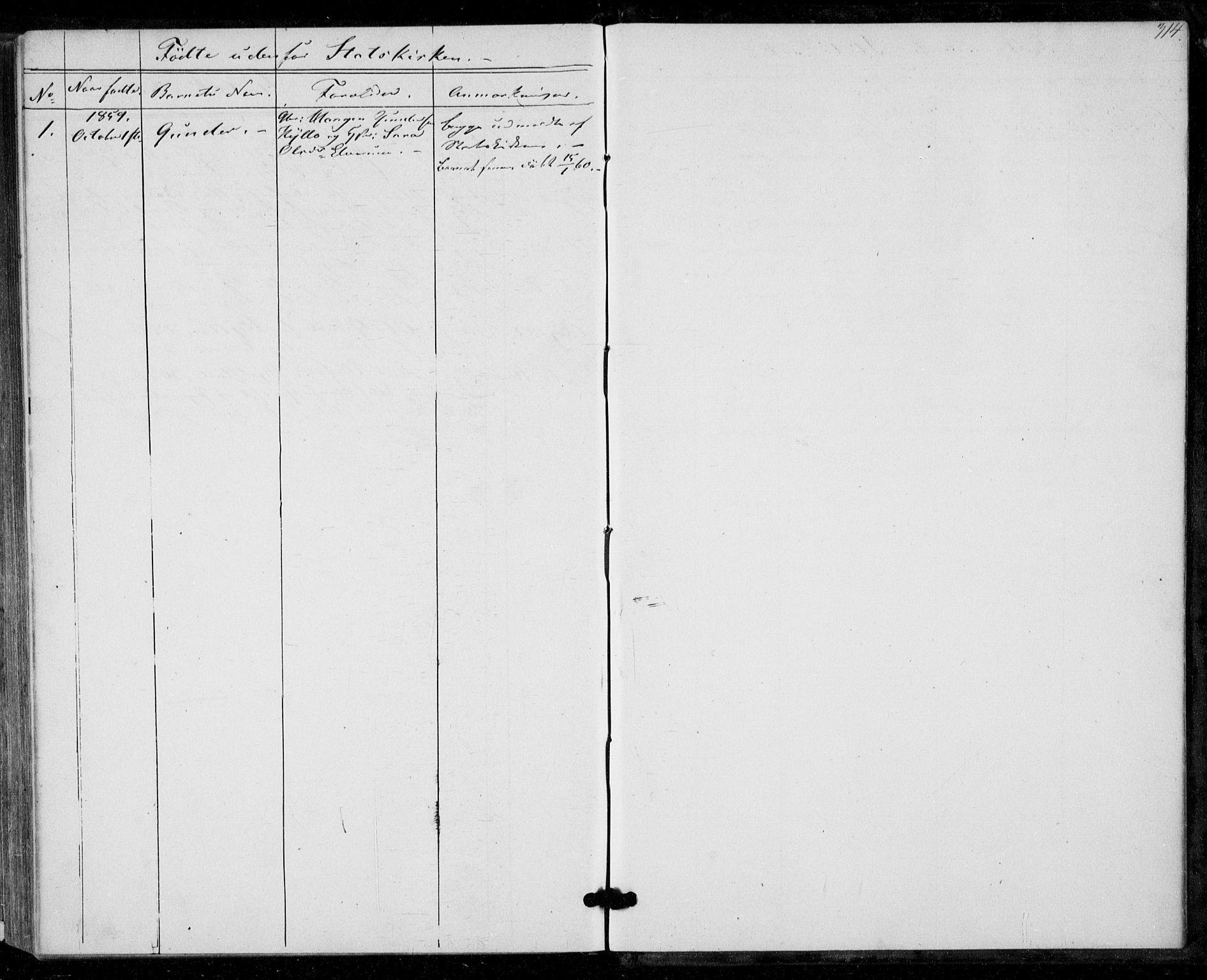SAT, Ministerialprotokoller, klokkerbøker og fødselsregistre - Nord-Trøndelag, 703/L0028: Parish register (official) no. 703A01, 1850-1862, p. 314