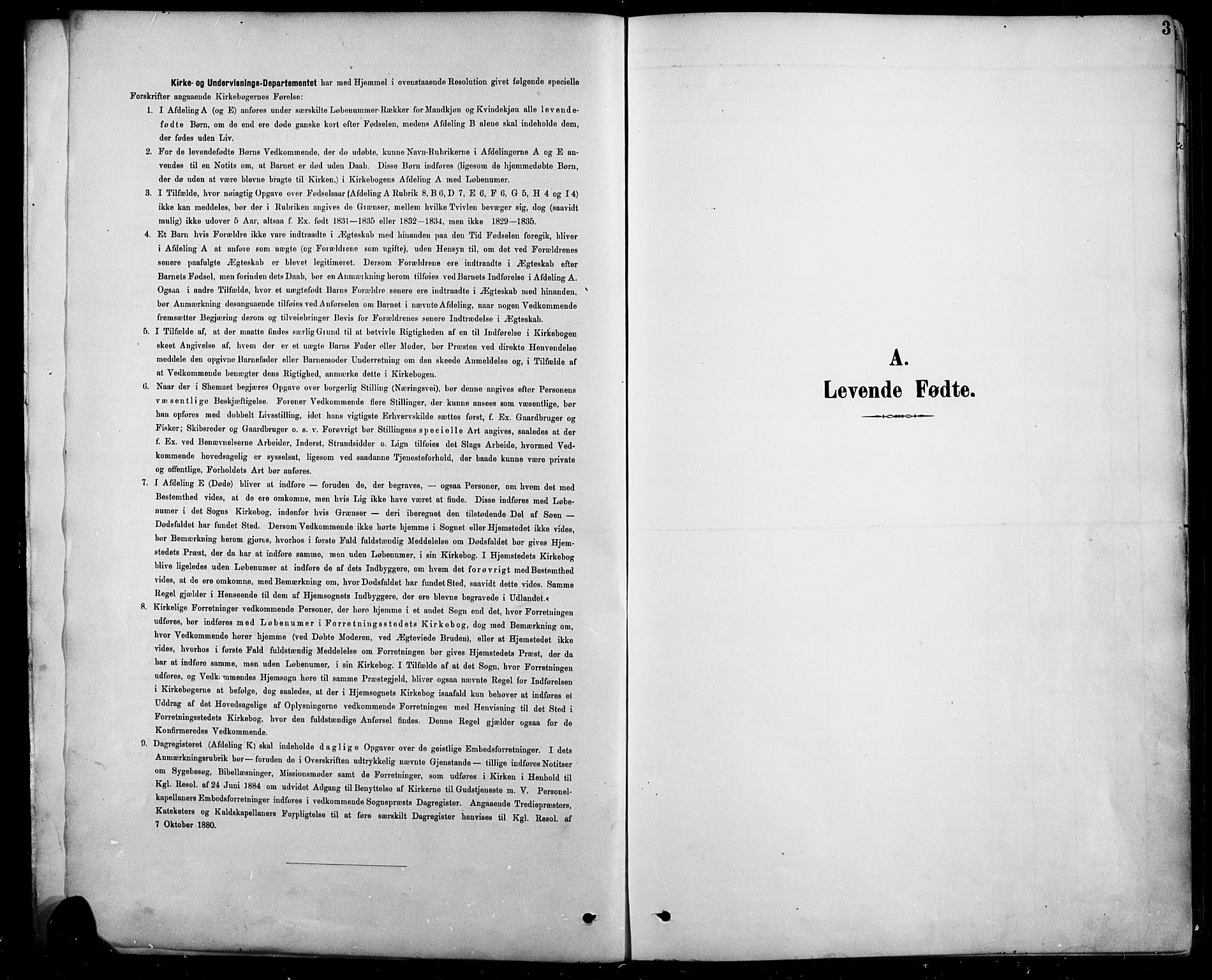 SAH, Sel prestekontor, Parish register (copy) no. 5, 1894-1923, p. 3