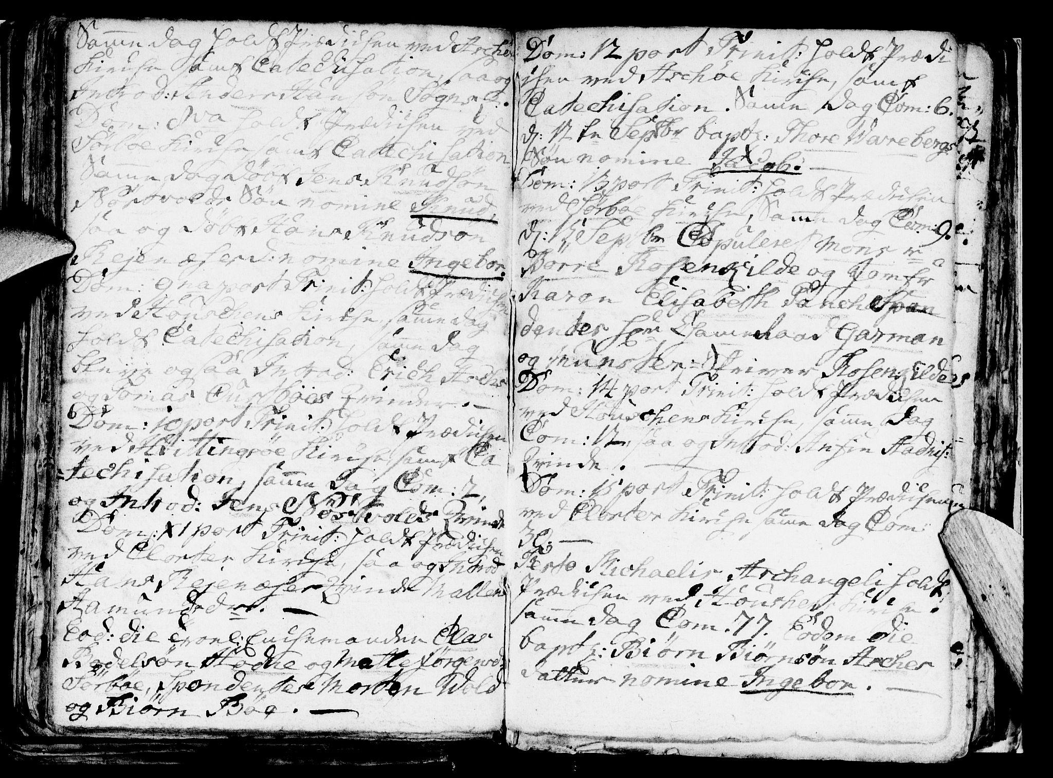 SAST, Rennesøy sokneprestkontor, H/Ha/Haa/L0002: Parish register (official) no. A 2, 1749-1771