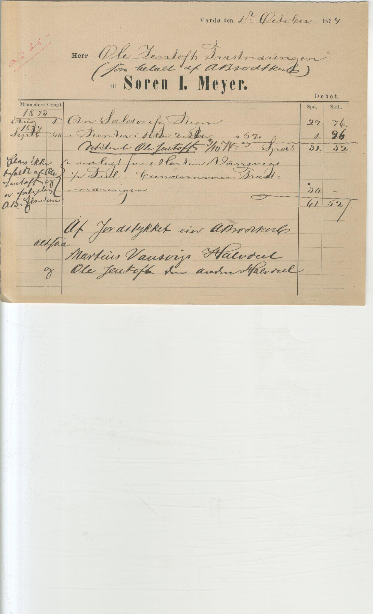 VAMU, Brodtkorb handel A/S, Q/Qb/L0003: Faste eiendommer i Vardø Herred, 1862-1939, p. 144