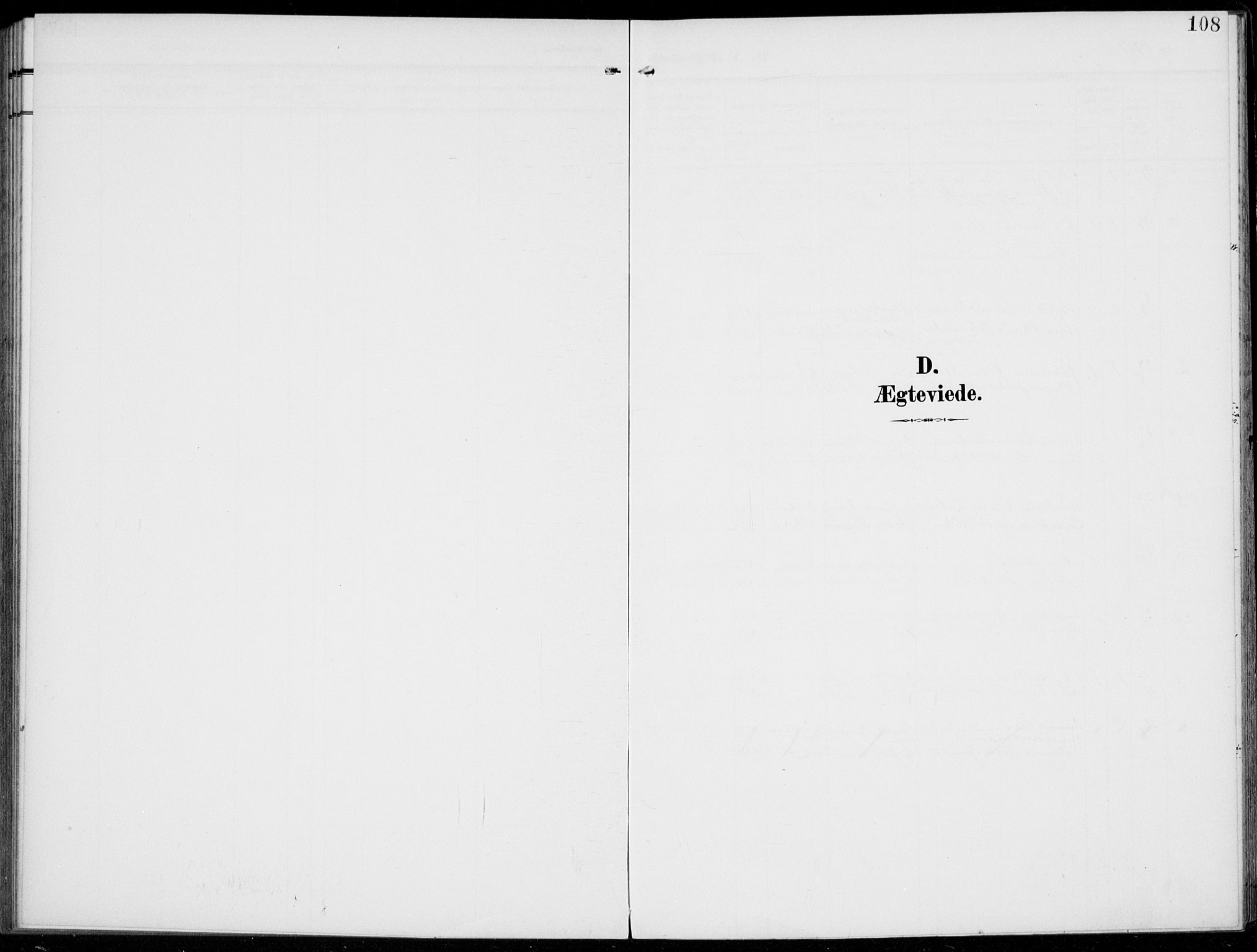 SAH, Kolbu prestekontor, Parish register (official) no. 1, 1907-1923, p. 108
