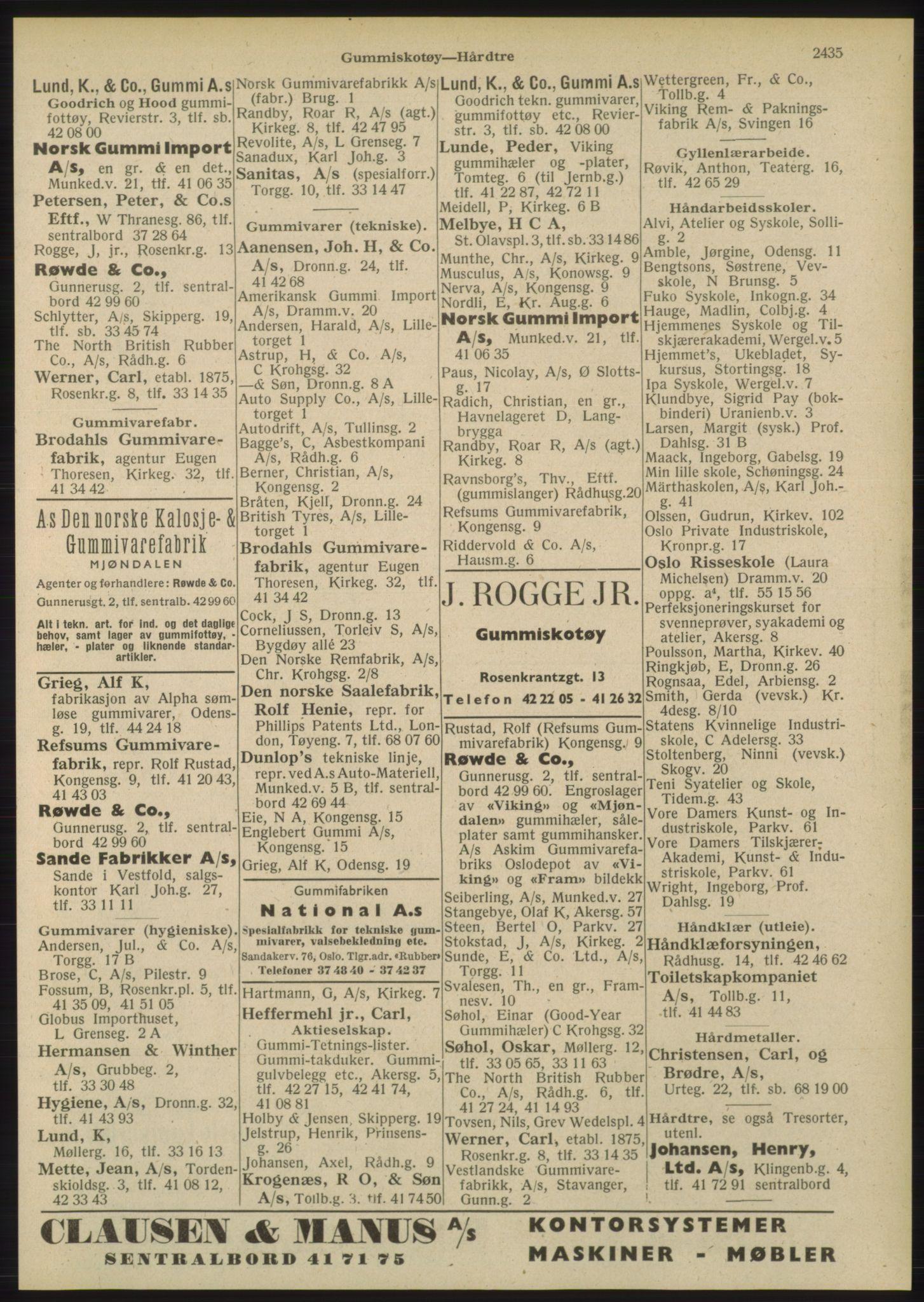 PUBL, Kristiania/Oslo adressebok, 1948, p. 2435