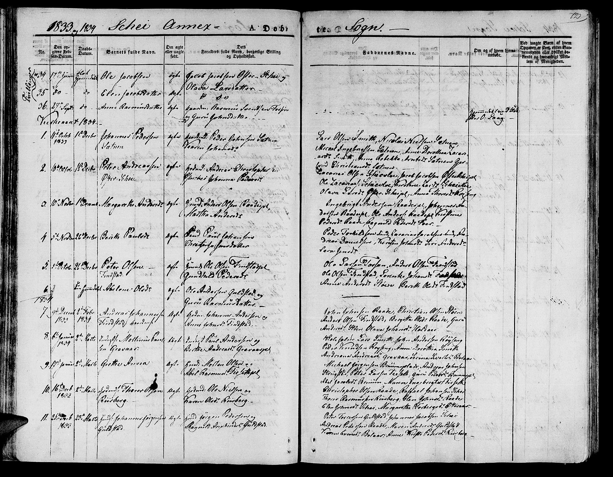 SAT, Ministerialprotokoller, klokkerbøker og fødselsregistre - Nord-Trøndelag, 735/L0336: Parish register (official) no. 735A05 /2, 1825-1835, p. 72
