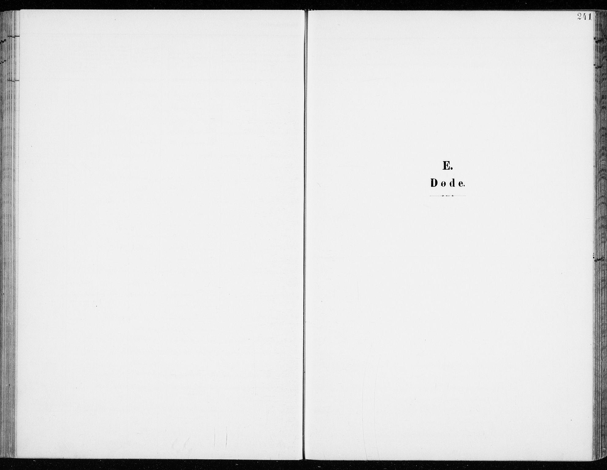 SAH, Fåberg prestekontor, H/Ha/Haa/L0011: Parish register (official) no. 11, 1899-1913, p. 241