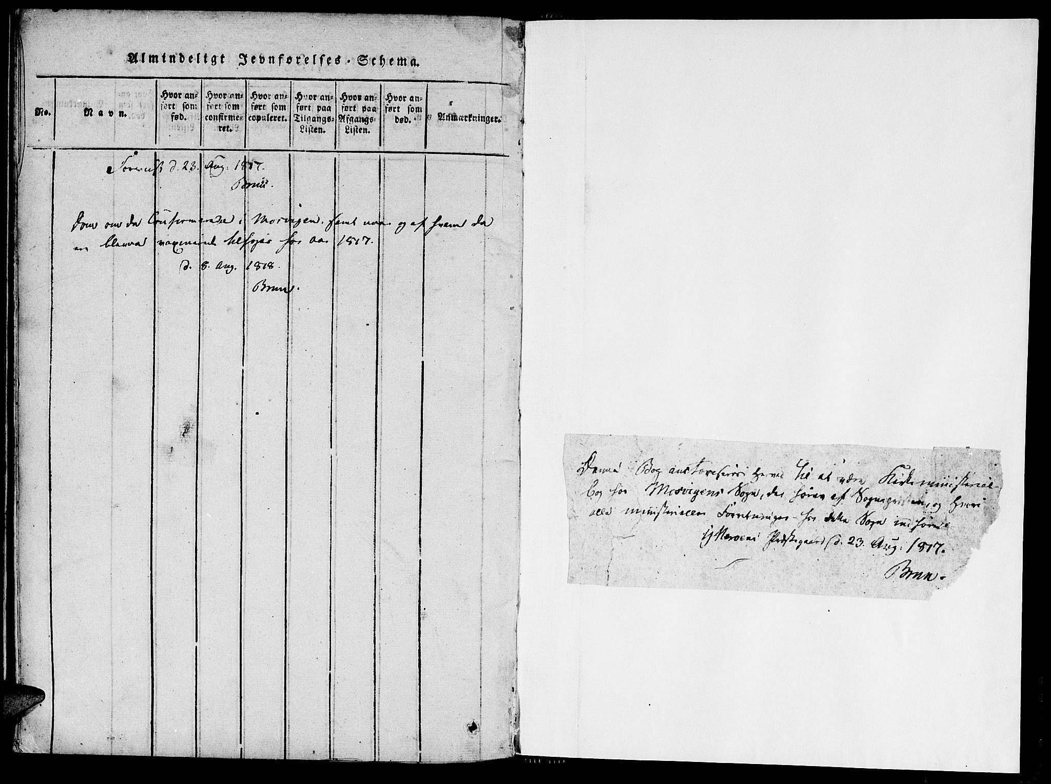 SAT, Ministerialprotokoller, klokkerbøker og fødselsregistre - Nord-Trøndelag, 733/L0322: Parish register (official) no. 733A01, 1817-1842