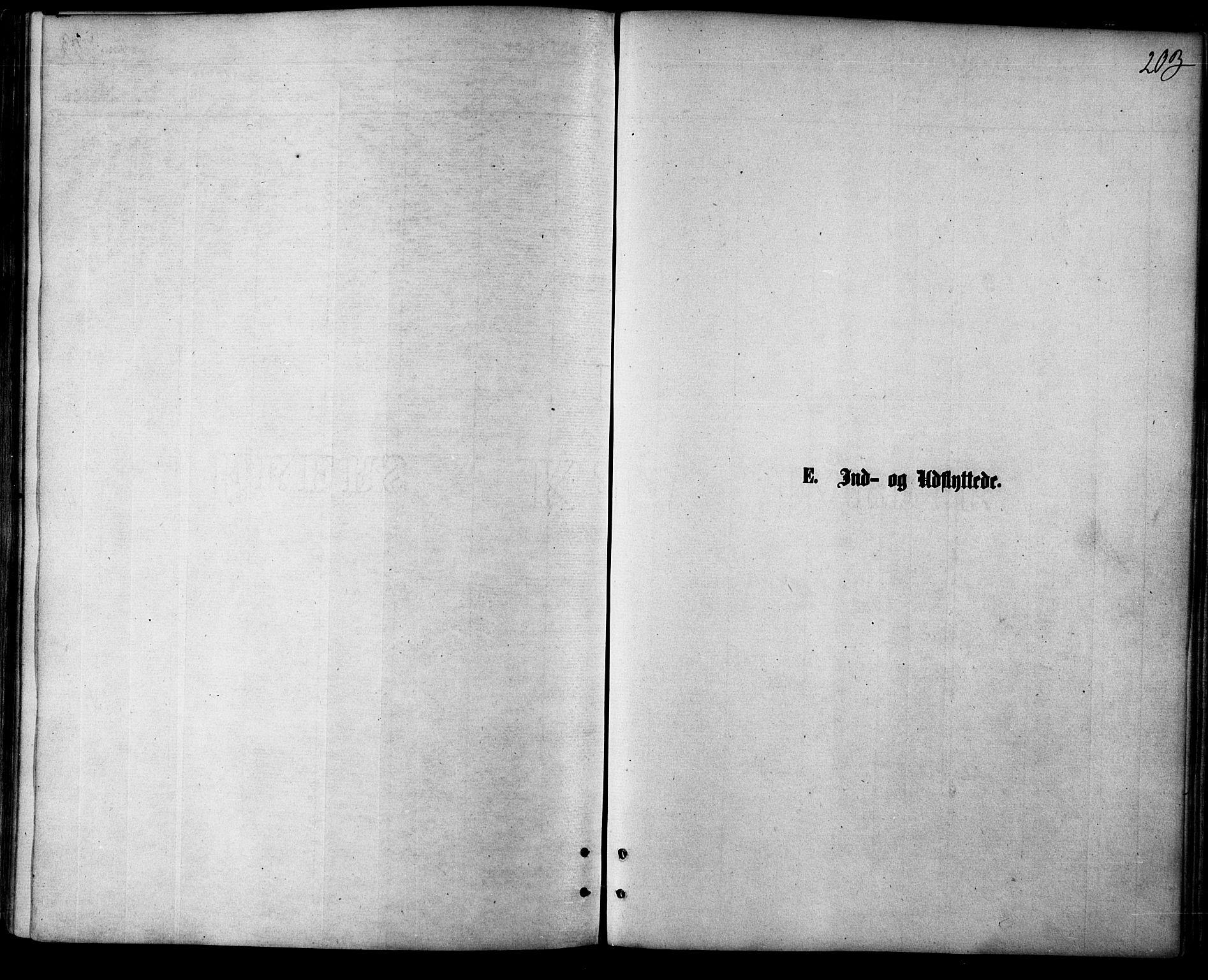 SATØ, Balsfjord sokneprestembete, Parish register (official) no. 4, 1871-1883, p. 203