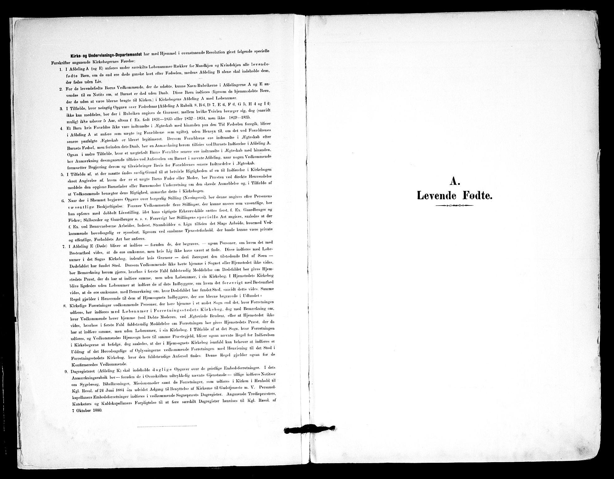 SAO, Kråkstad prestekontor Kirkebøker, F/Fa/L0010: Parish register (official) no. I 10, 1893-1931