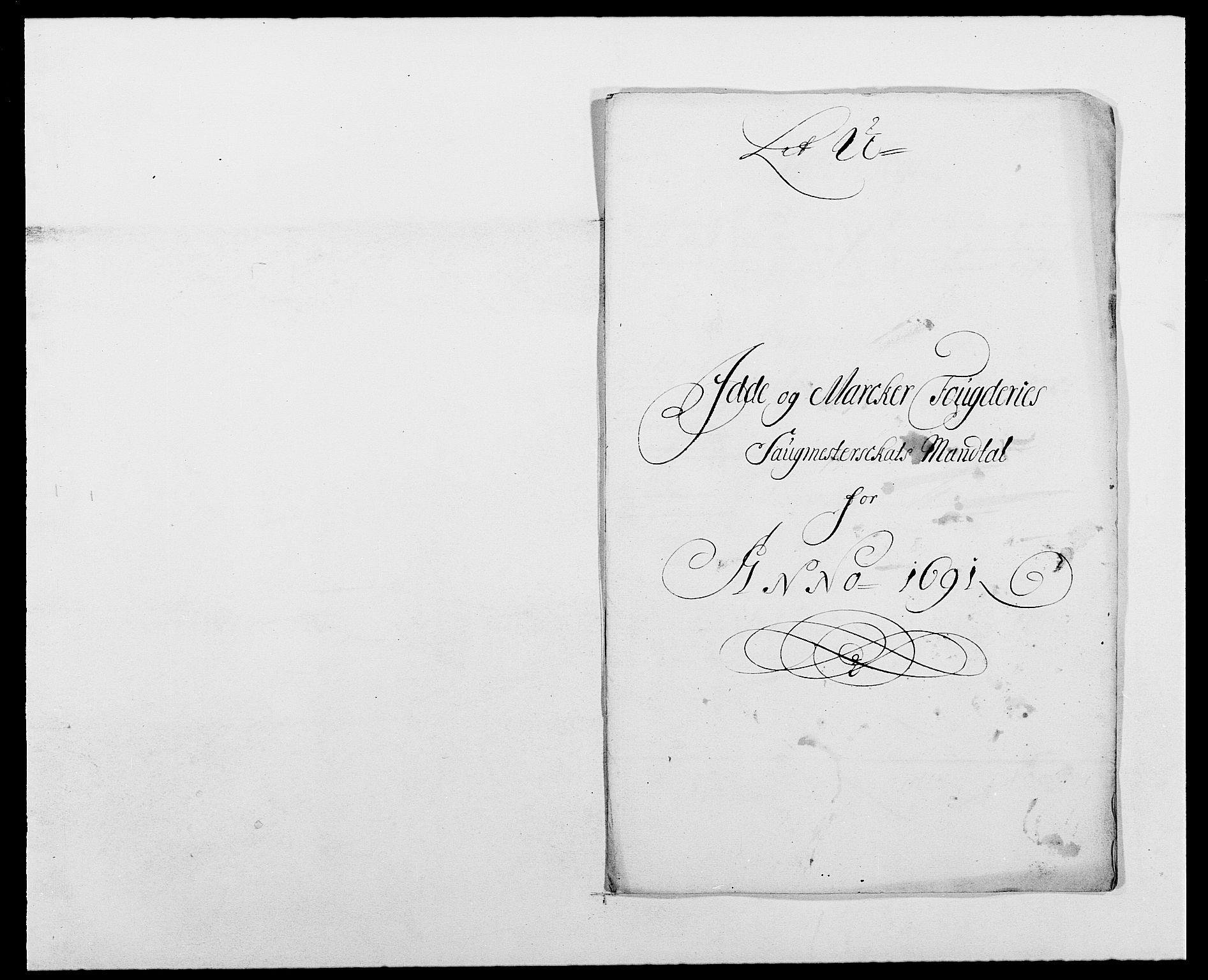 RA, Rentekammeret inntil 1814, Reviderte regnskaper, Fogderegnskap, R01/L0010: Fogderegnskap Idd og Marker, 1690-1691, p. 366