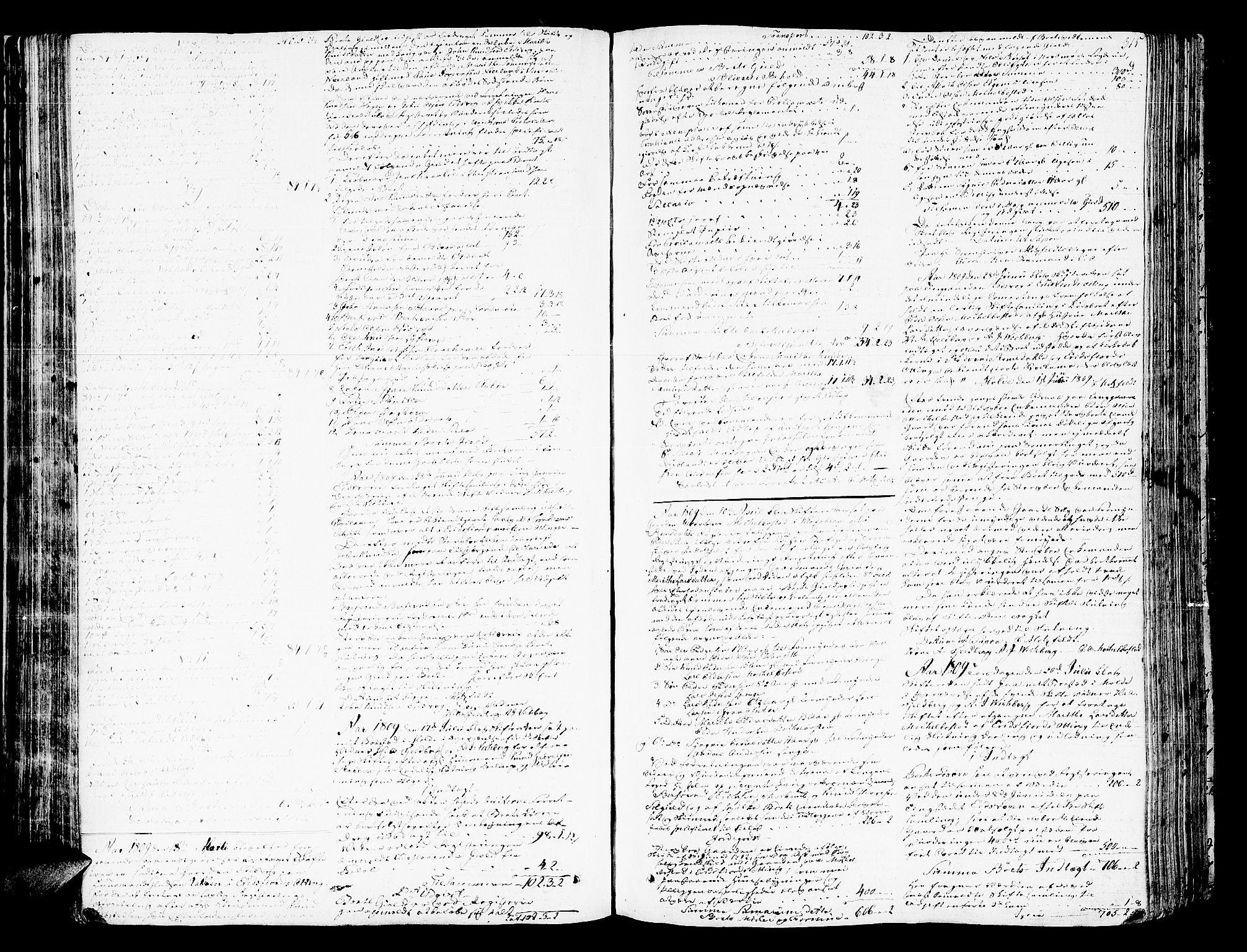 SAT, Romsdal sorenskriveri, 3/3A/L0013: Skifteprotokoll, 1802-1812, p. 314b-315a