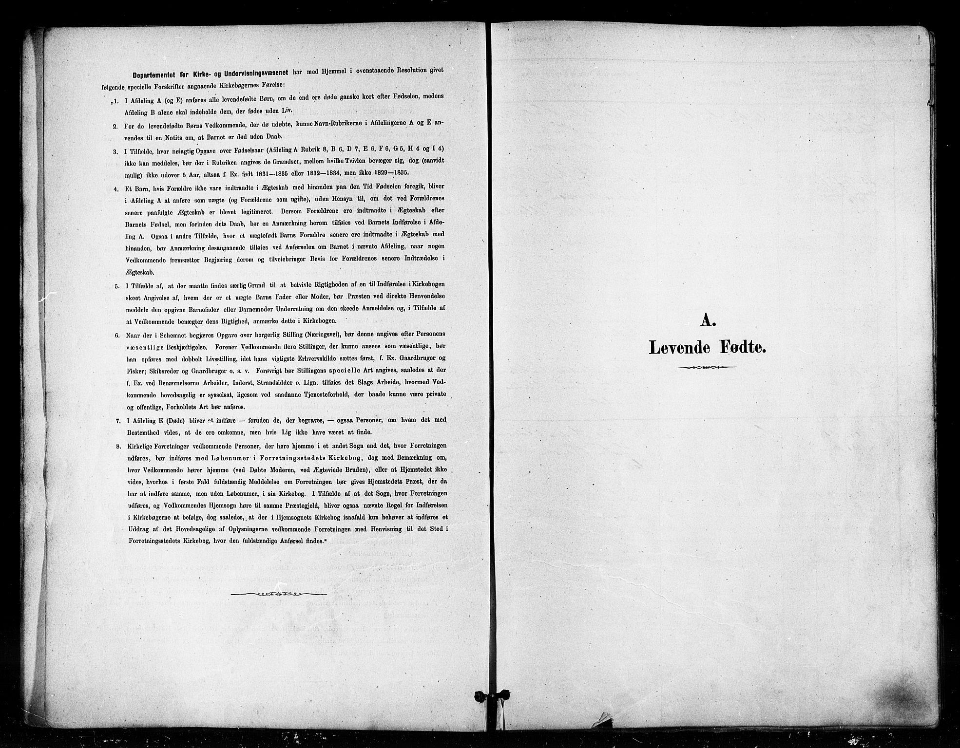 SATØ, Vardø sokneprestkontor, H/Ha/L0006kirke: Parish register (official) no. 6, 1879-1886