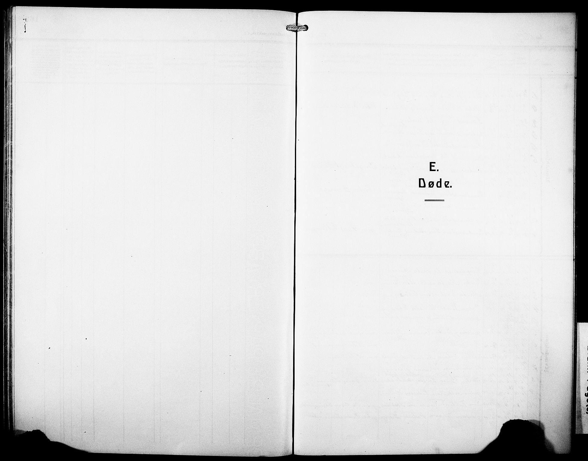 SAB, Os sokneprestembete*, Parish register (copy) no. A 4, 1914-1923
