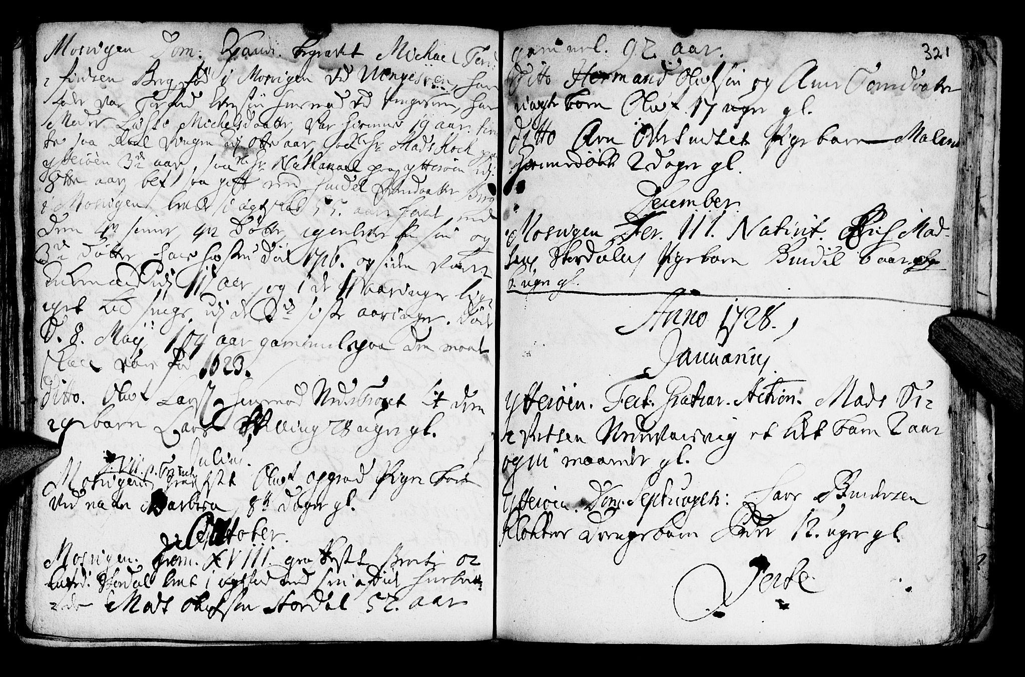 SAT, Ministerialprotokoller, klokkerbøker og fødselsregistre - Nord-Trøndelag, 722/L0215: Parish register (official) no. 722A02, 1718-1755, p. 321