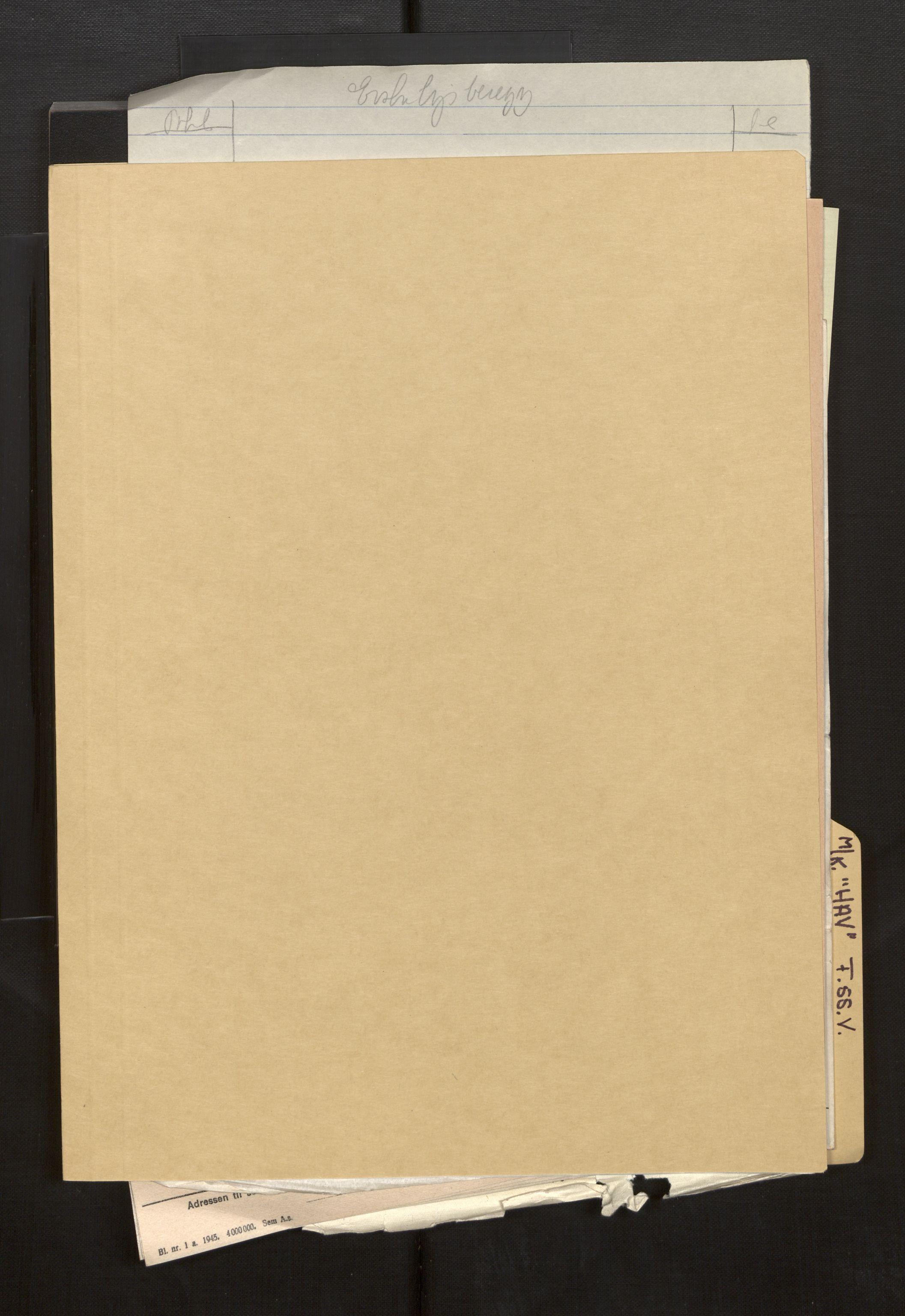 SAB, Fiskeridirektoratet - 1 Adm. ledelse - 13 Båtkontoret, La/L0042: Statens krigsforsikring for fiskeflåten, 1936-1971, p. 762