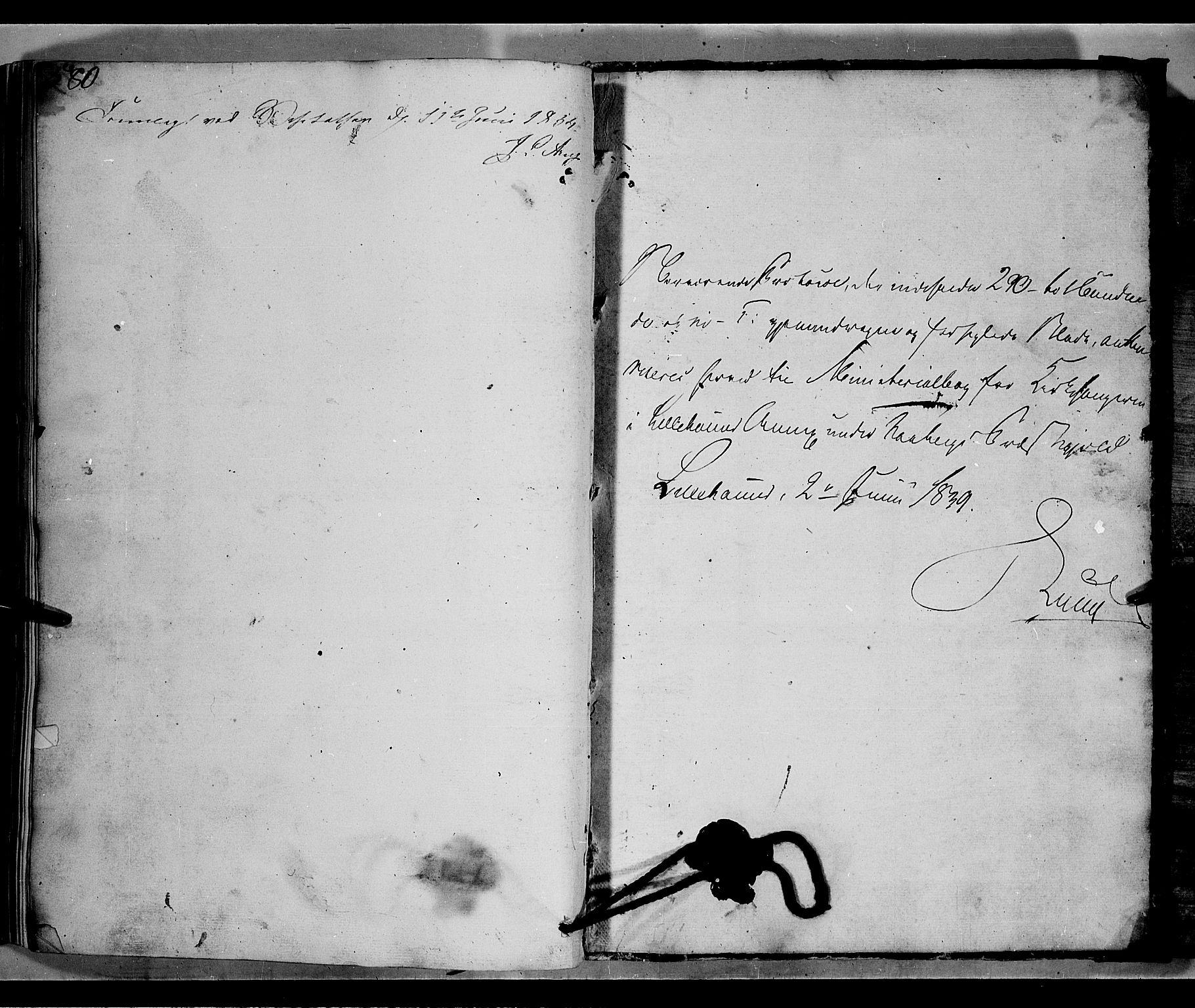 SAH, Fåberg prestekontor, H/Ha/Hab/L0006: Parish register (copy) no. 6, 1837-1855, p. 580-581
