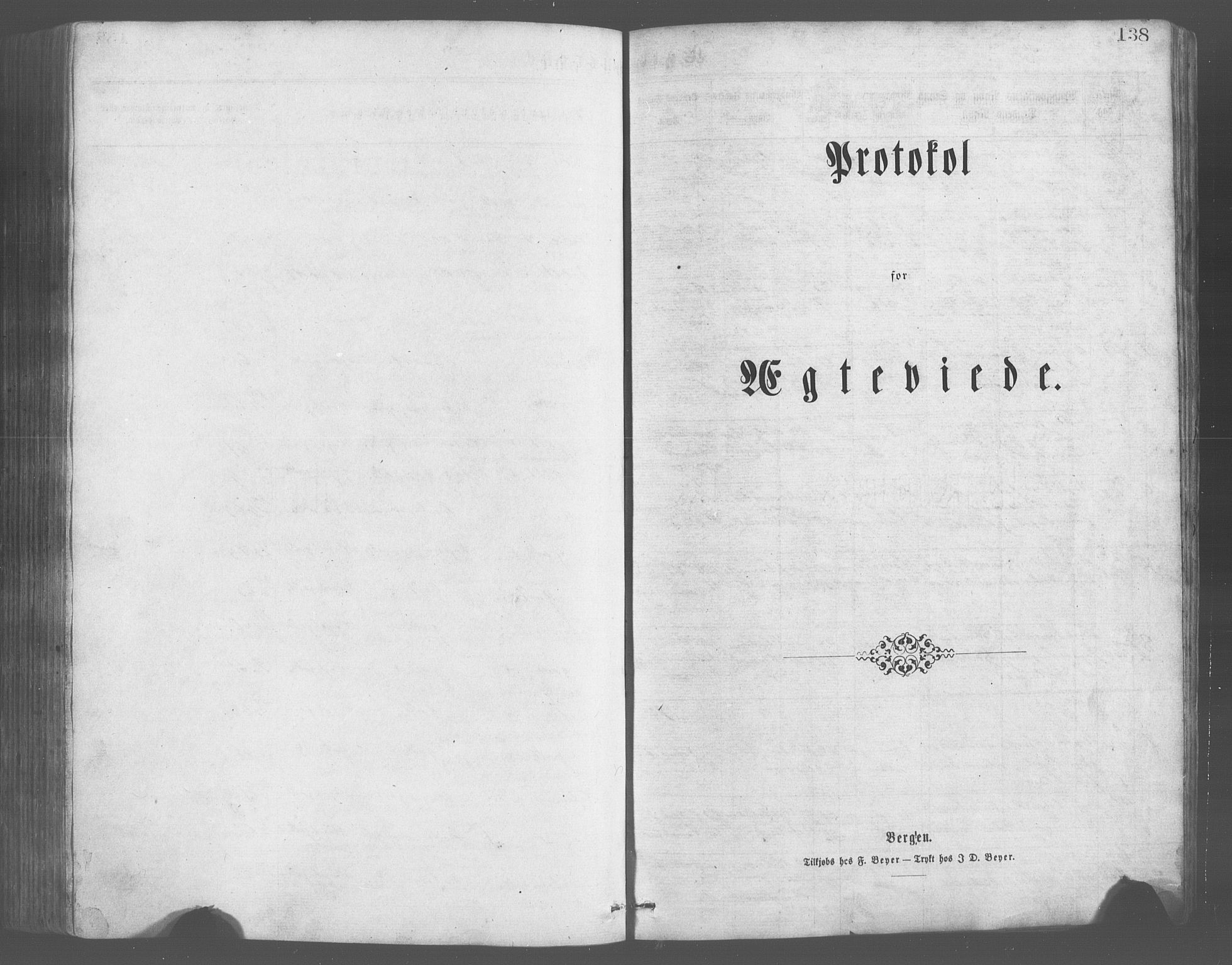 SAB, Evanger sokneprestembete*, Parish register (copy) no. A 2, 1863-1879, p. 138