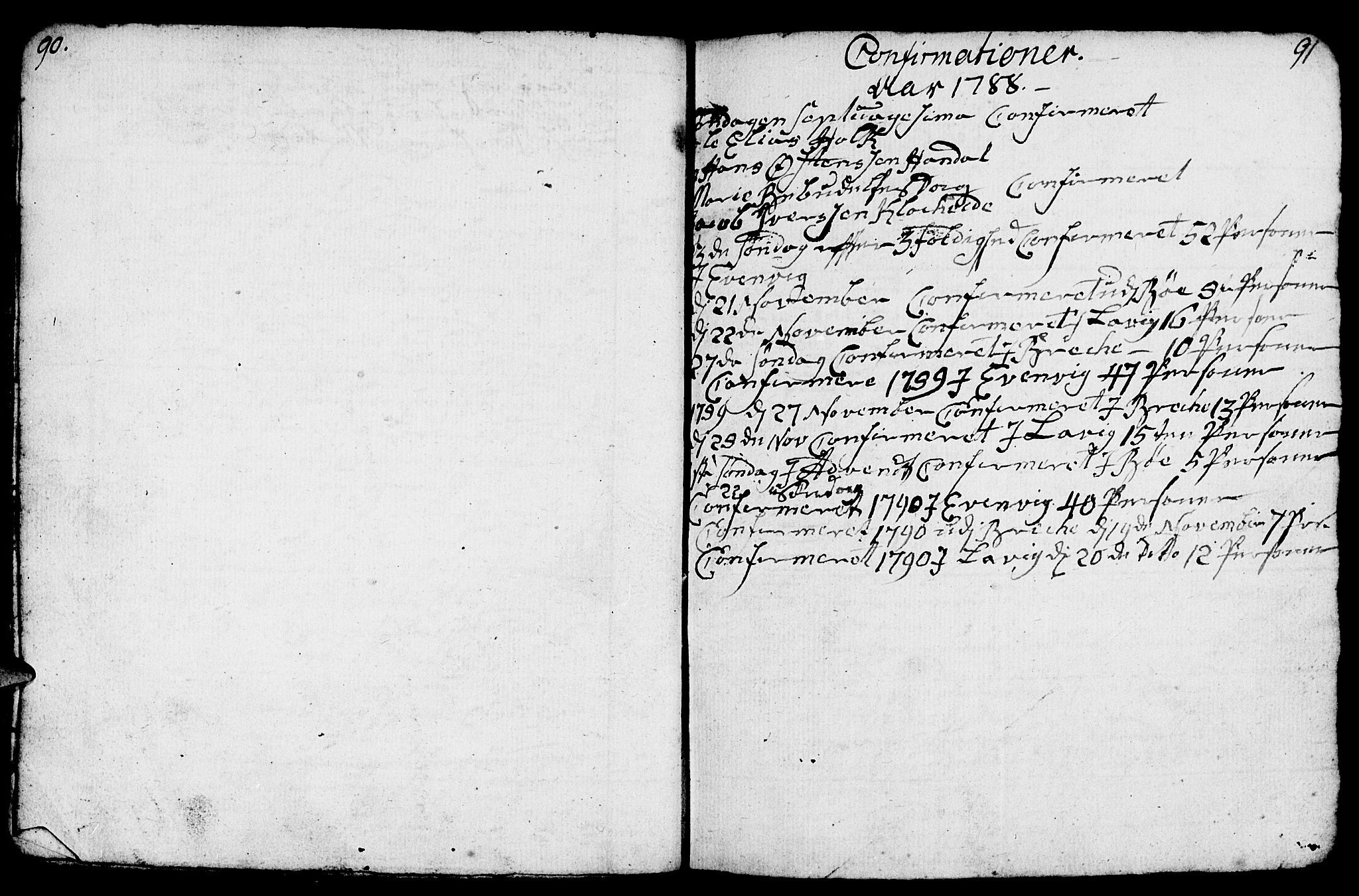 SAB, Gulen Sokneprestembete, Parish register (copy) no. A 1, 1786-1791, p. 109