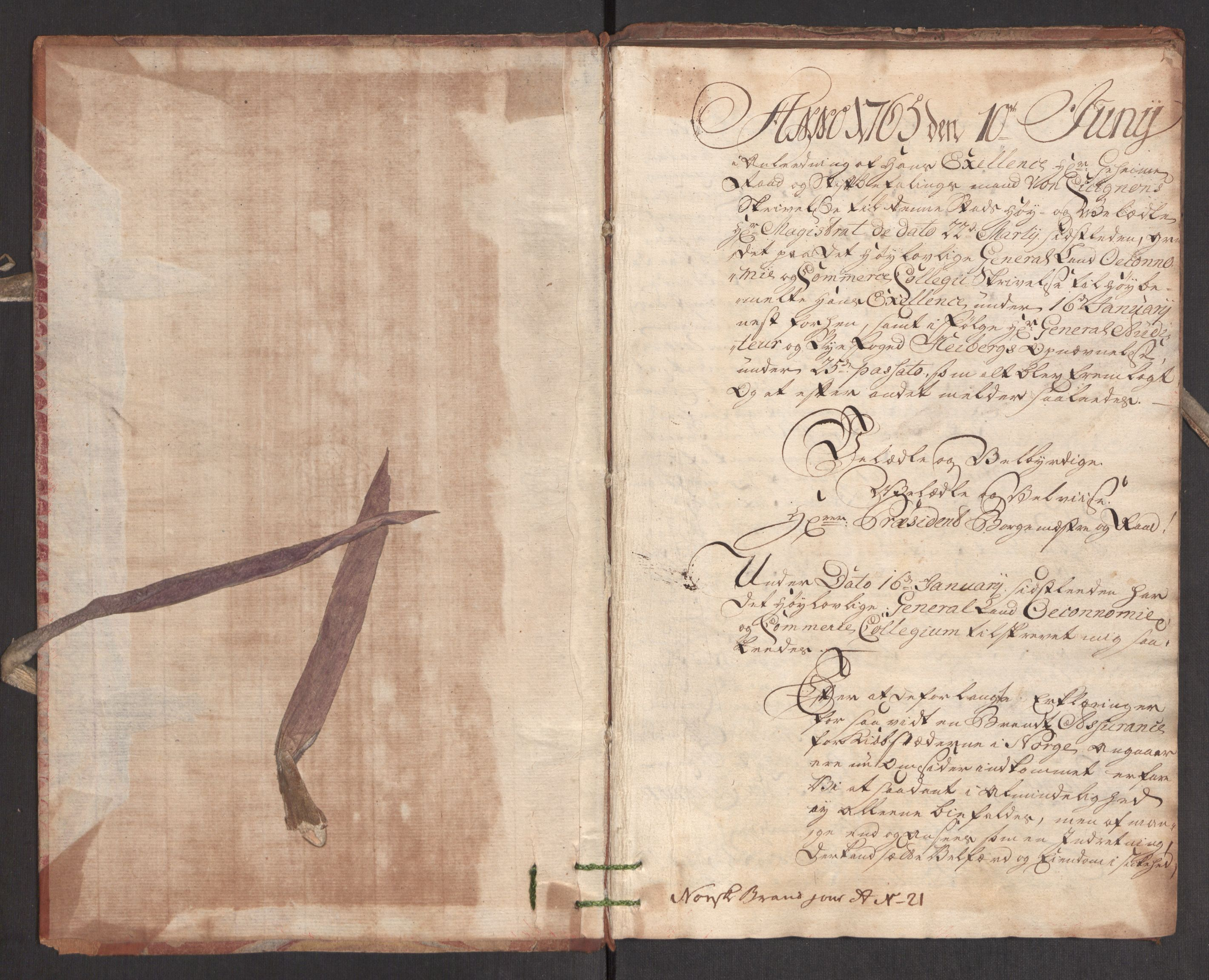 RA, Kommersekollegiet, Brannforsikringskontoret 1767-1814, F/Fa/L0004: Bergen, 1767