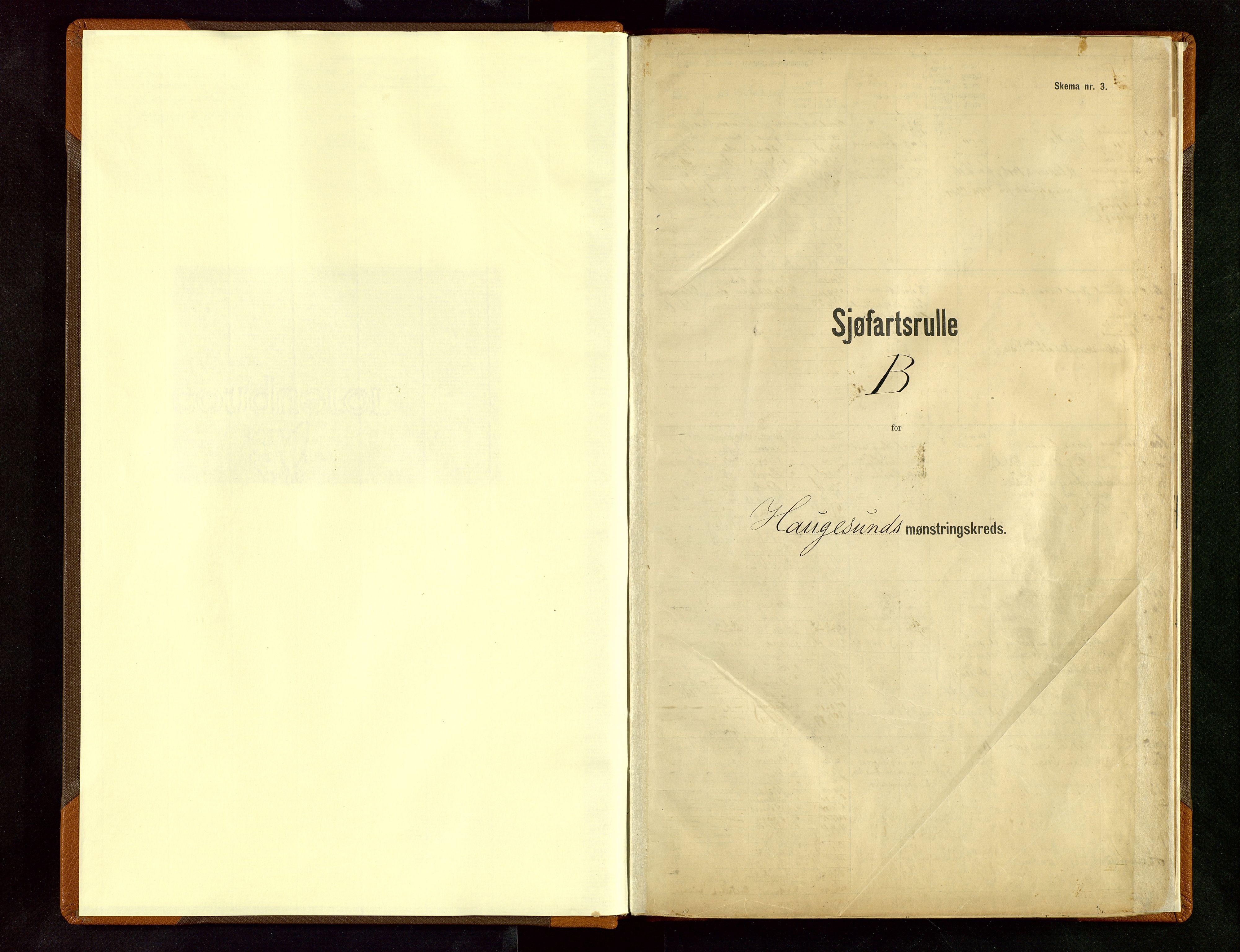SAST, Haugesund sjømannskontor*, 1912