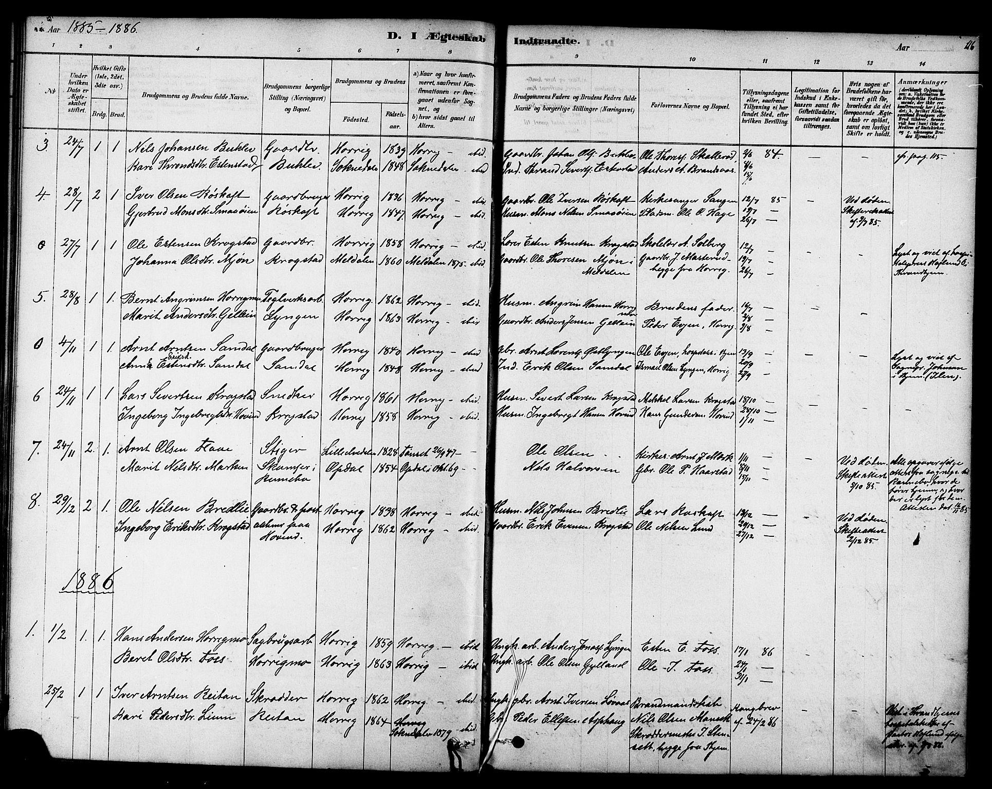 SAT, Ministerialprotokoller, klokkerbøker og fødselsregistre - Sør-Trøndelag, 692/L1105: Parish register (official) no. 692A05, 1878-1890, p. 116