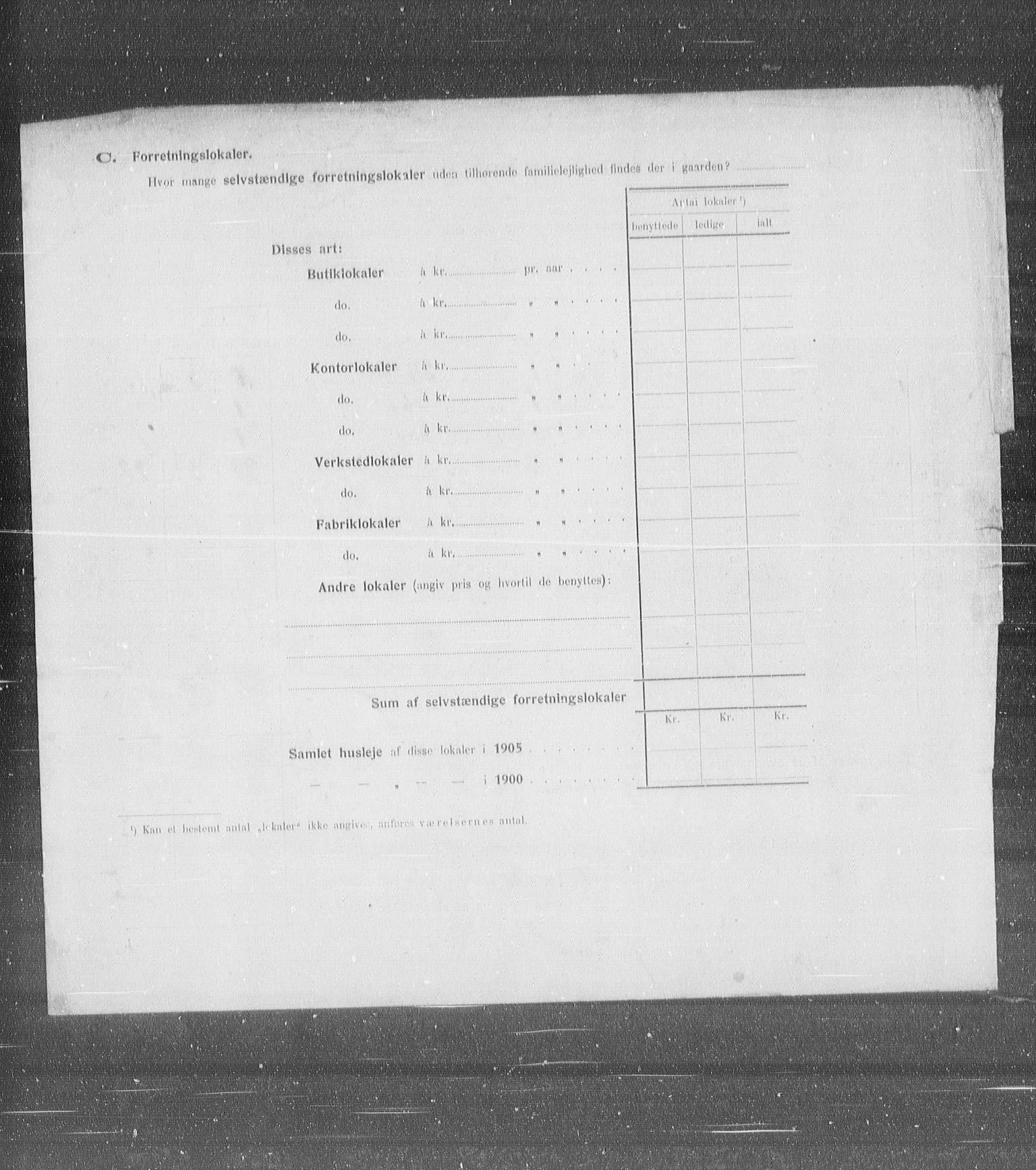 OBA, Municipal Census 1905 for Kristiania, 1905, p. 54825