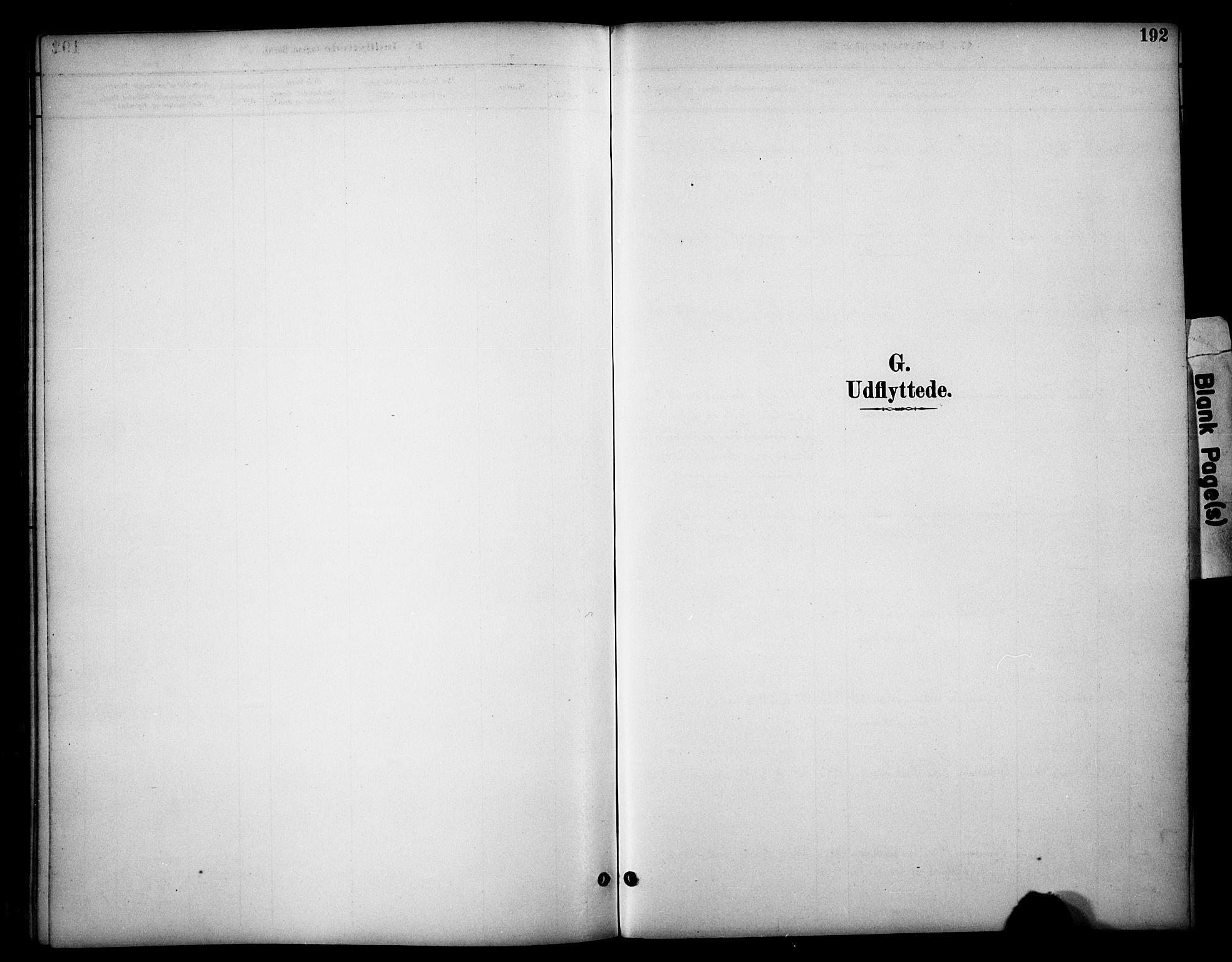 SAH, Dovre prestekontor, Parish register (official) no. 3, 1891-1901, p. 192
