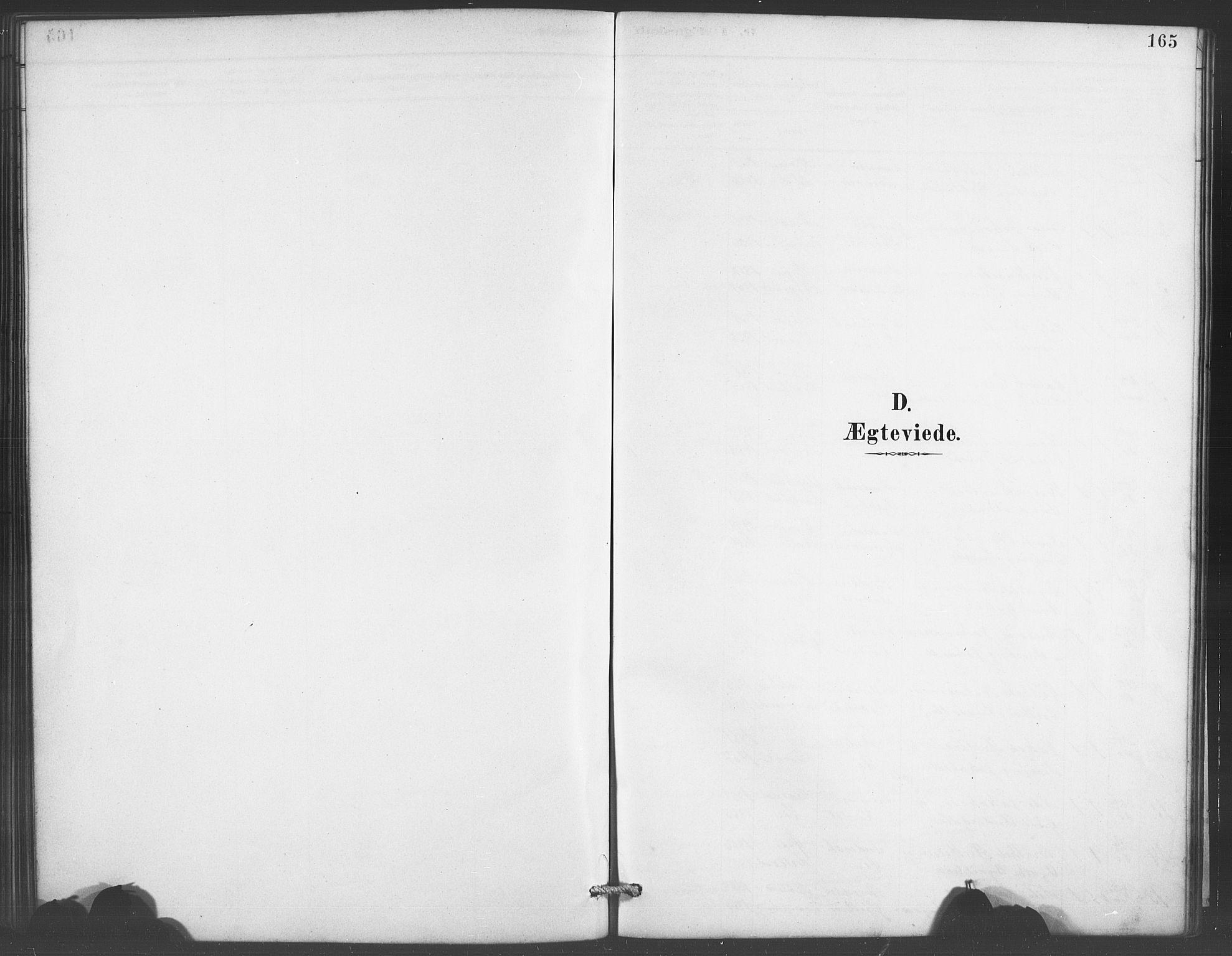 SAB, Evanger sokneprestembete*, Parish register (copy) no. A 4, 1887-1897, p. 165