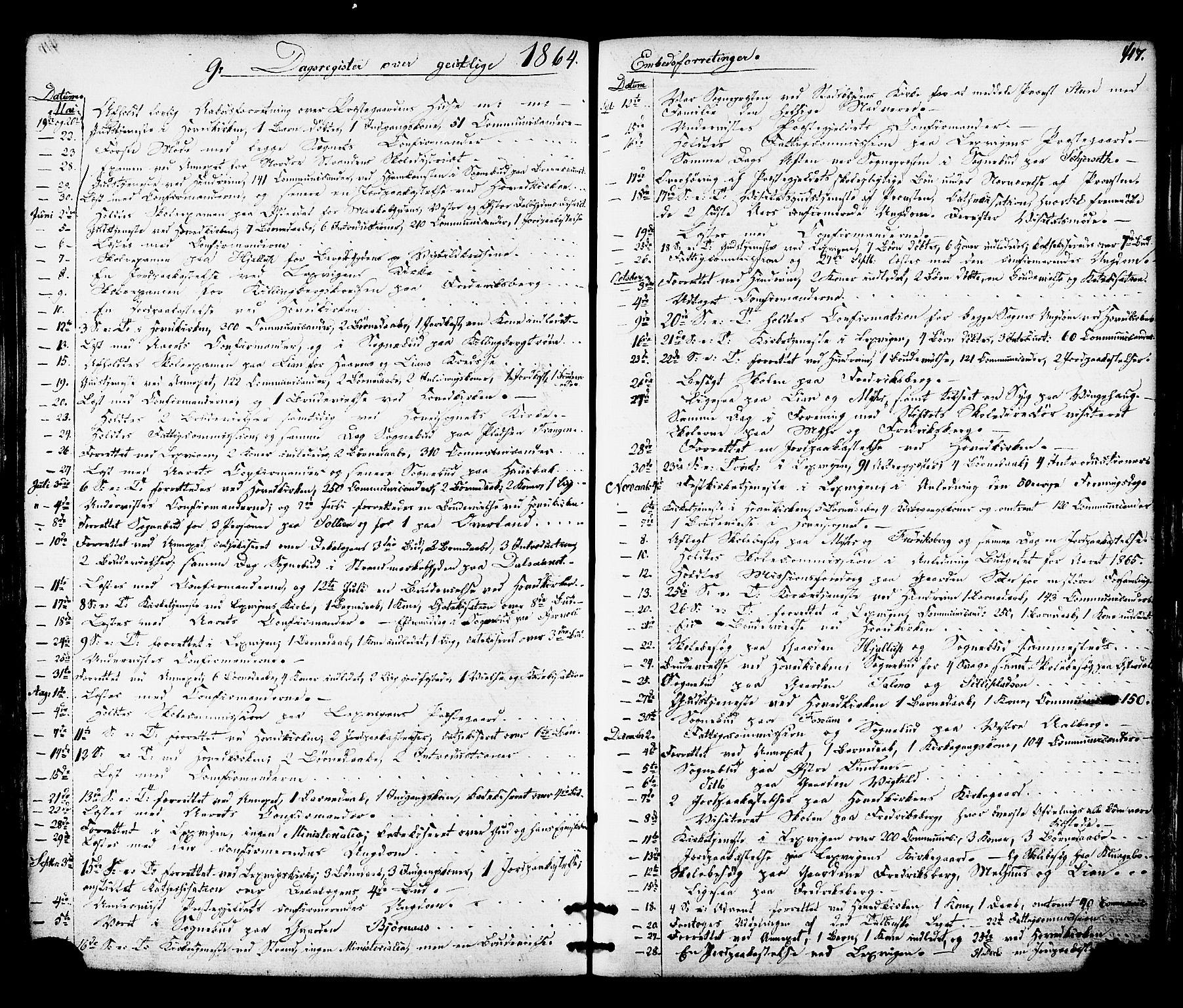 SAT, Ministerialprotokoller, klokkerbøker og fødselsregistre - Nord-Trøndelag, 701/L0009: Parish register (official) no. 701A09 /1, 1864-1882, p. 417