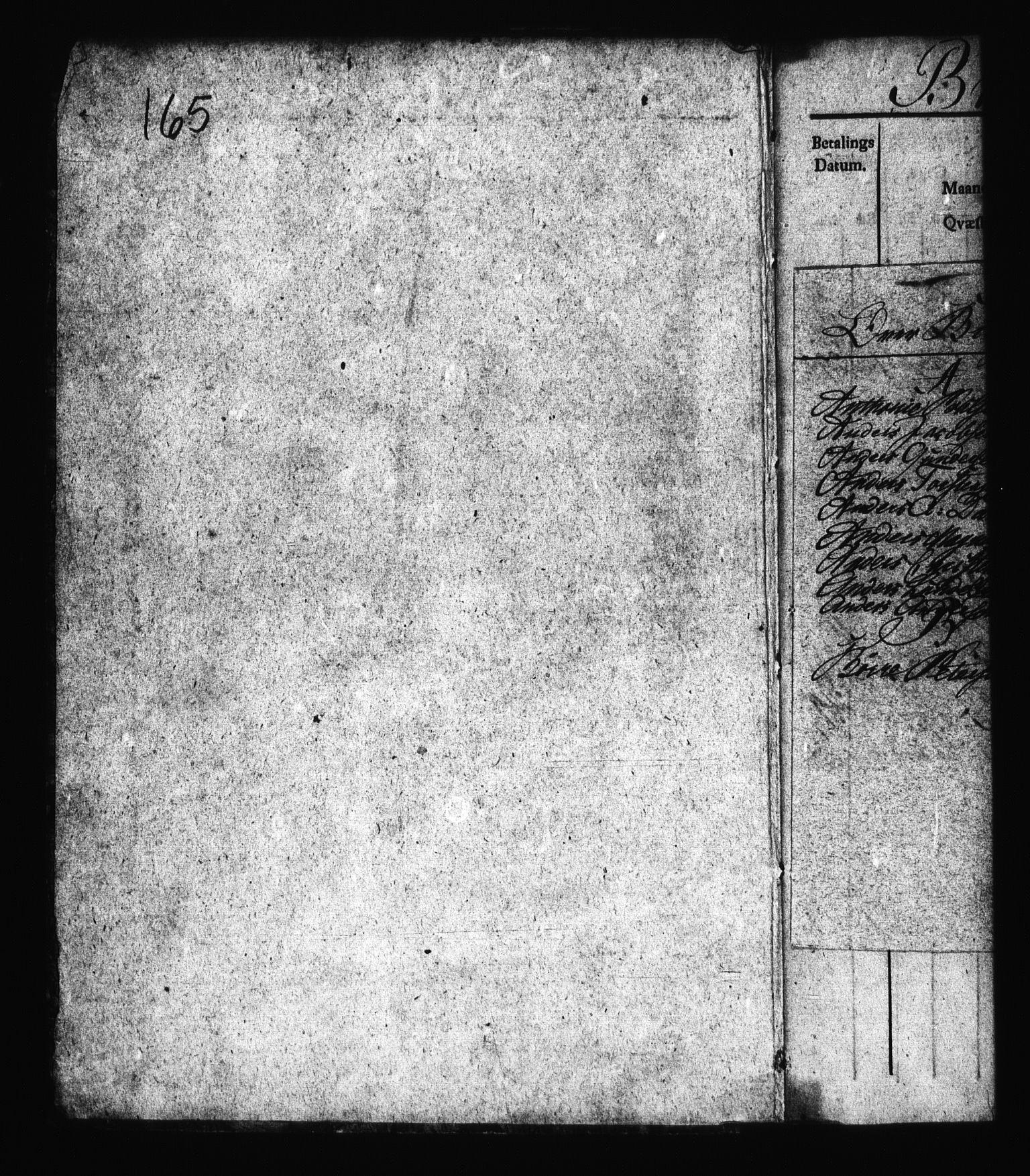 RA, Sjøetaten, F/L0166: Bragernes distrikt, bind 3, 1812