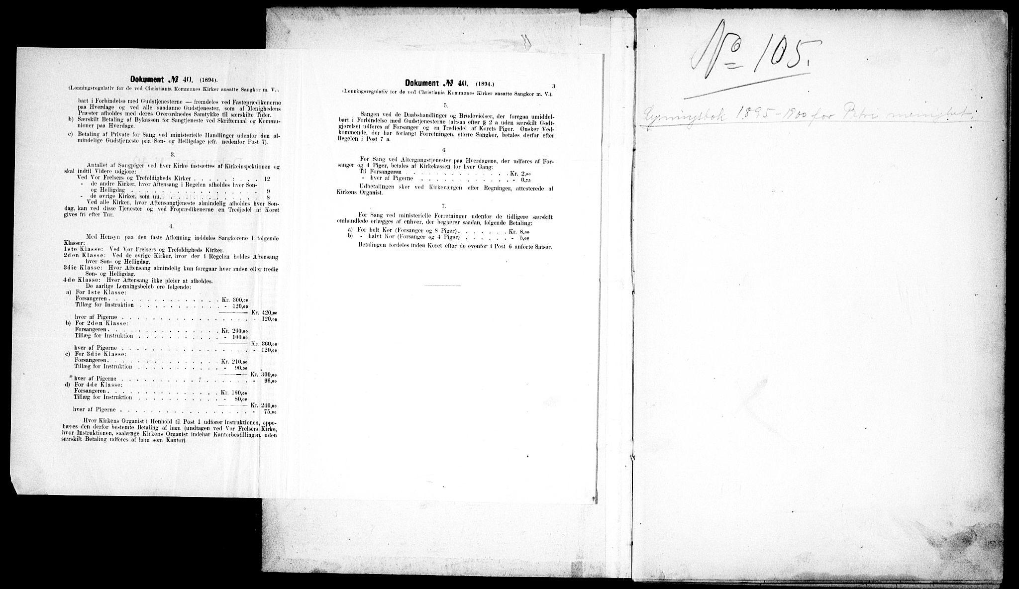 SAO, Petrus prestekontor Kirkebøker, H/Ha/L0002: Banns register no. 2, 1895-1900
