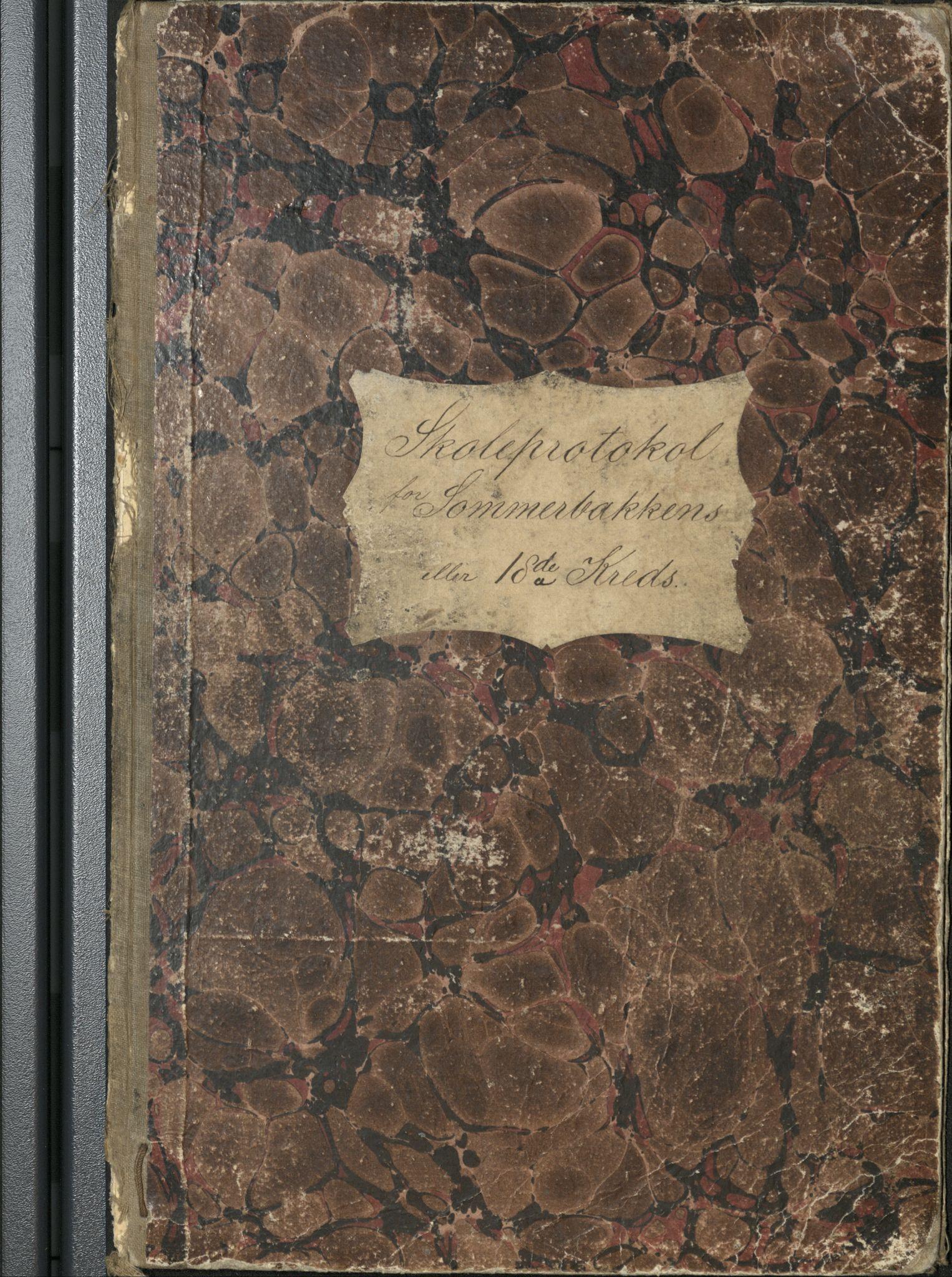 AT, Målselv kommune, -/-/-/115: Sommerbakkens krets, 18. krets - skole på gårdene Sommerbakken, Kjerresnes, Holmen, 1870-1875