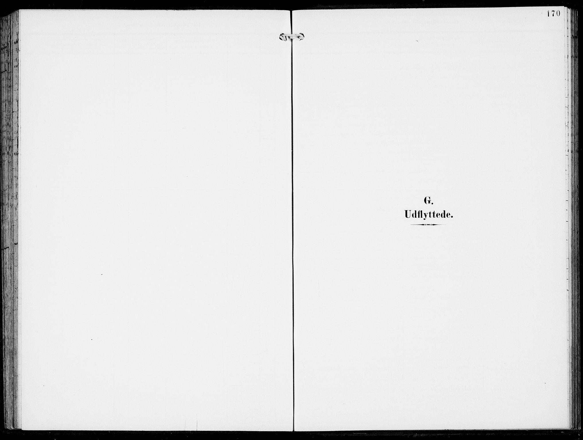 SAB, Haus Sokneprestembete, H/Haa: Parish register (official) no. B  2, 1899-1912, p. 170