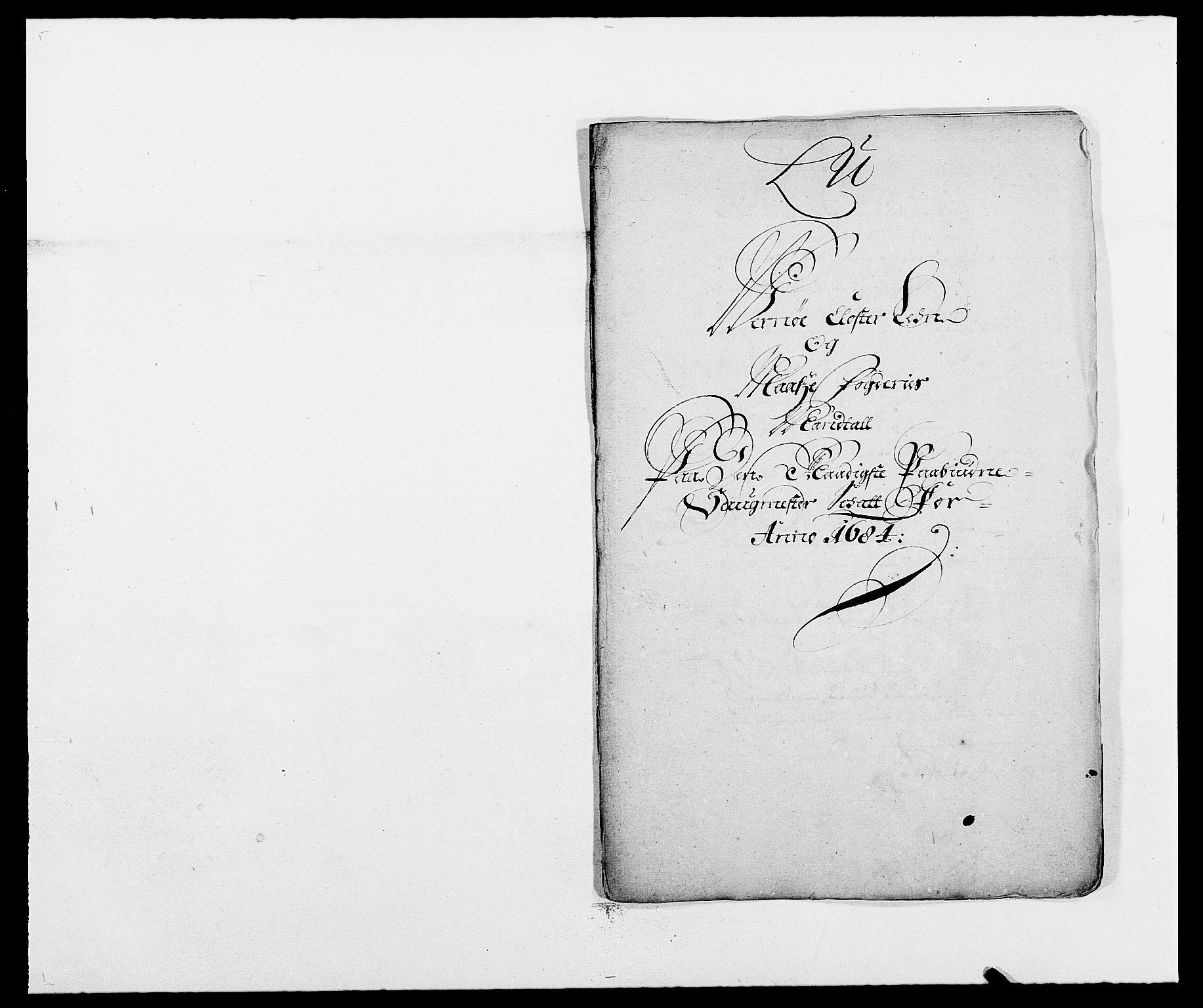 RA, Rentekammeret inntil 1814, Reviderte regnskaper, Fogderegnskap, R02/L0103: Fogderegnskap Moss og Verne kloster, 1682-1684, p. 511