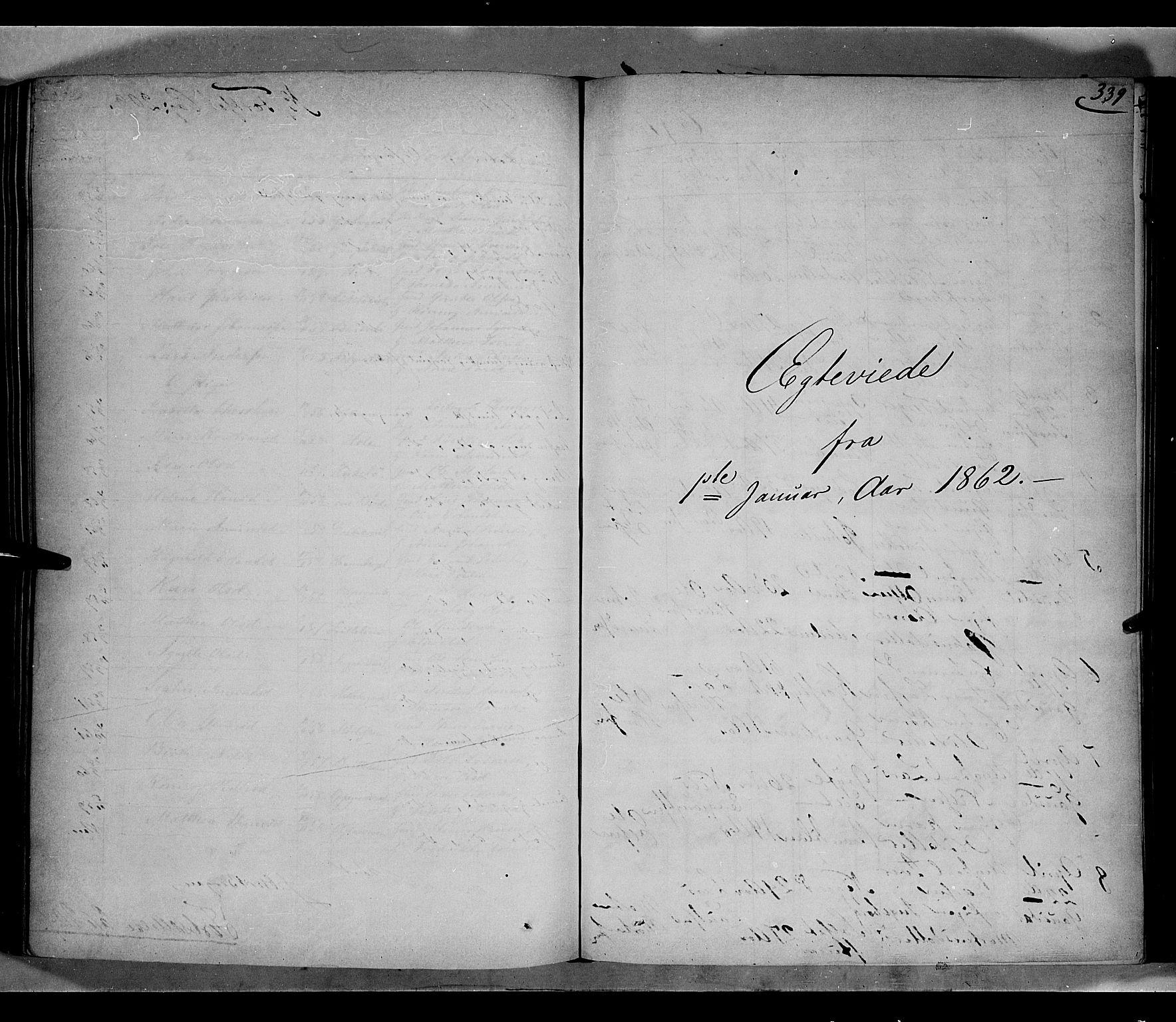 SAH, Gausdal prestekontor, Parish register (official) no. 9, 1862-1873, p. 339