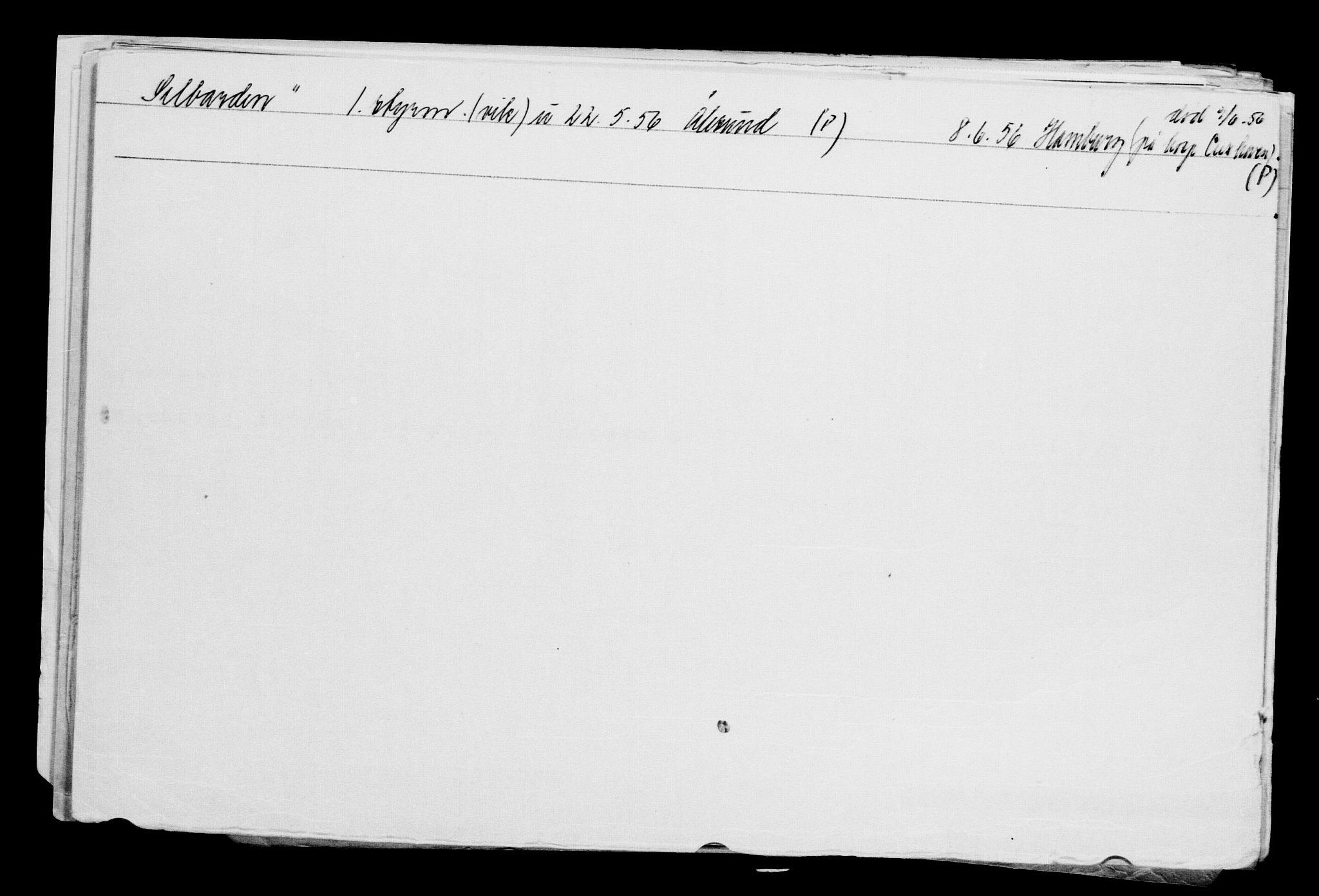 RA, Direktoratet for sjømenn, G/Gb/L0002: Hovedkort, 1883-1885, p. 26