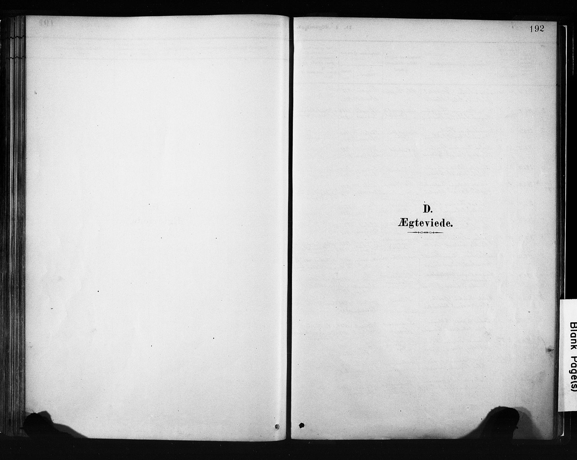 SAB, Evanger sokneprestembete*, Parish register (official) no. A 1, 1877-1899, p. 192