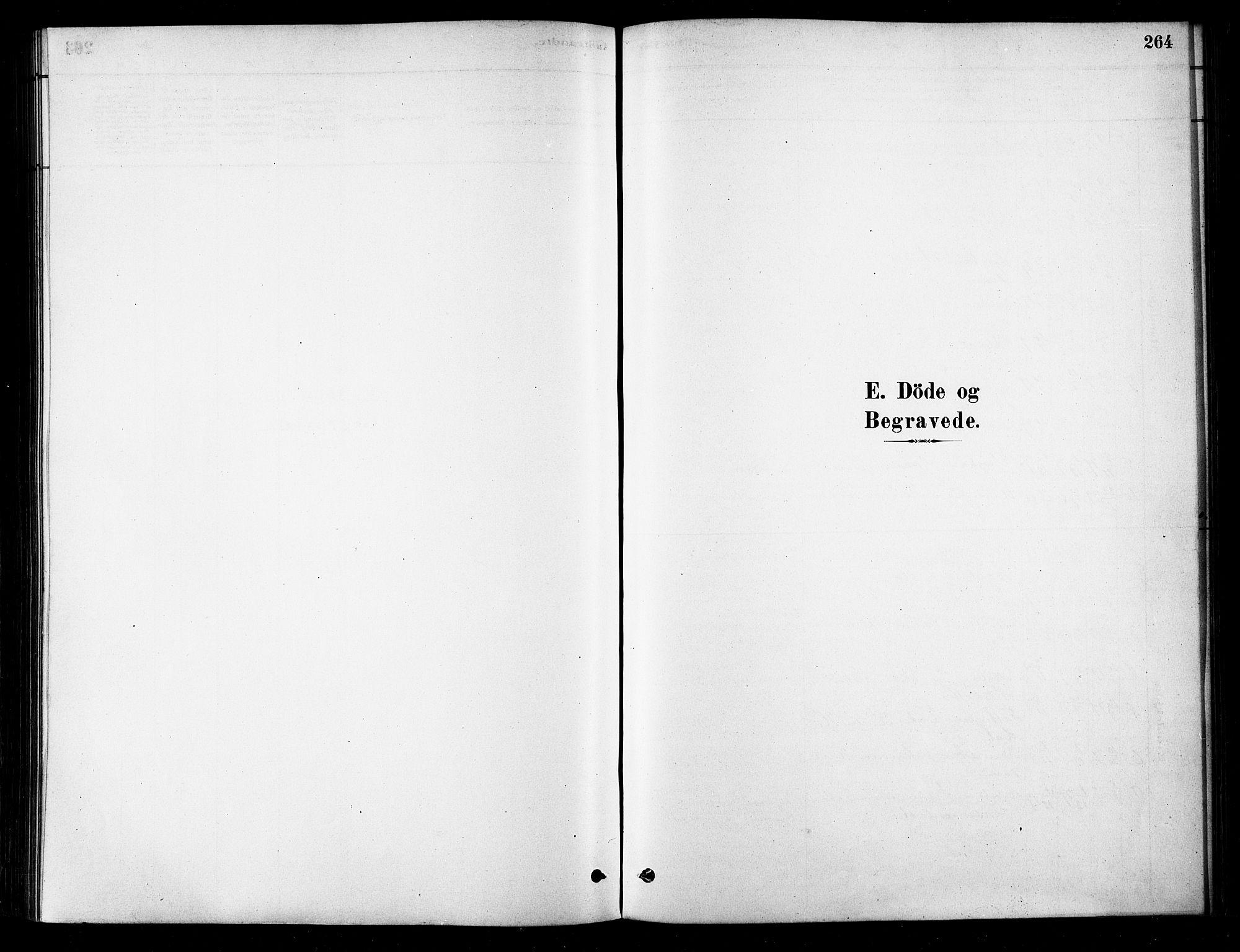 SATØ, Karlsøy sokneprestembete, H/Ha/Haa/L0006kirke: Parish register (official) no. 6, 1879-1890, p. 264