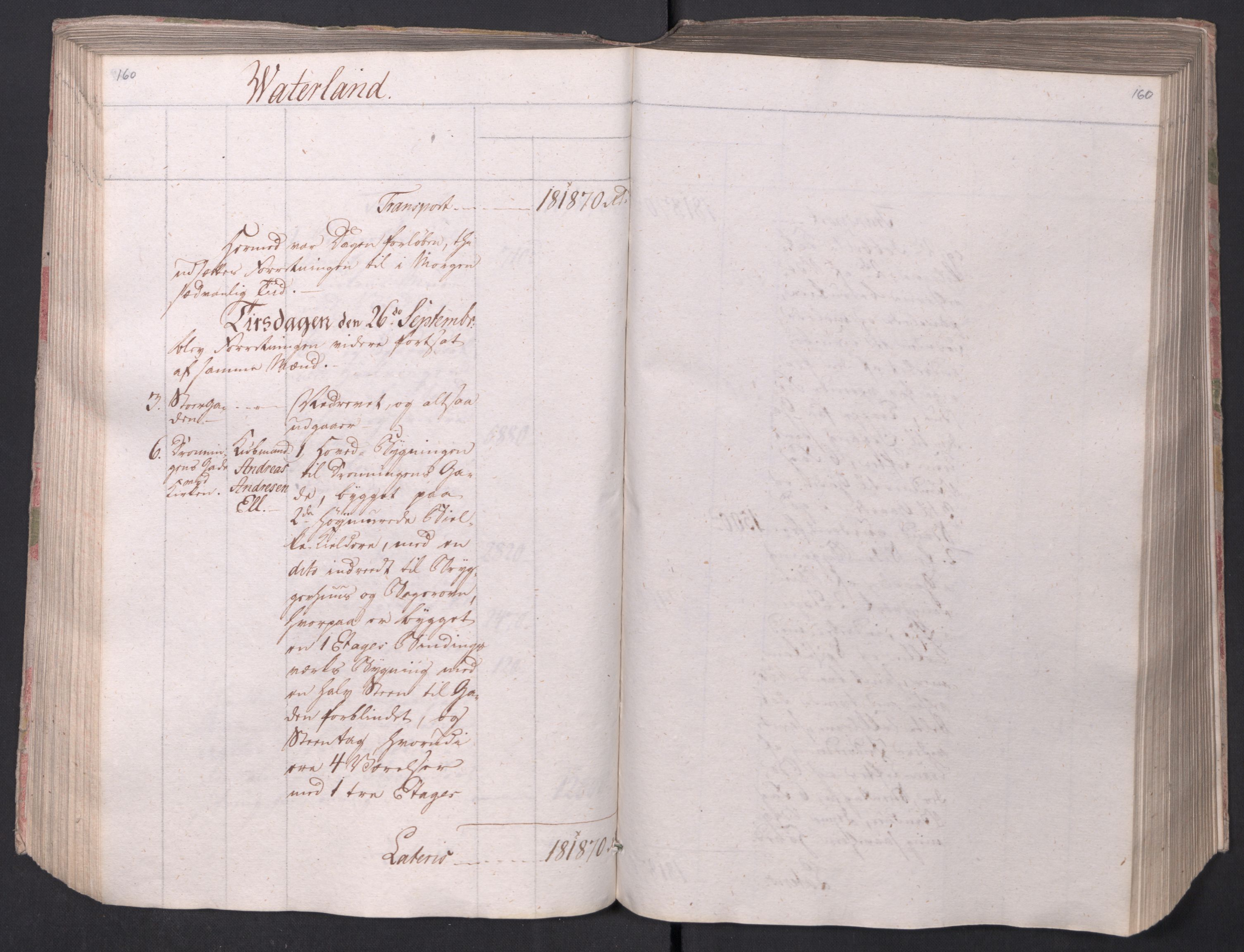 SAO, Kristiania stiftamt, I/Ia/L0015: Branntakster, 1797, p. 160