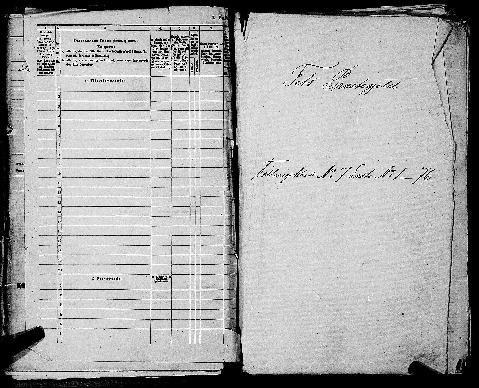 RA, 1875 census for 0227P Fet, 1875, p. 992