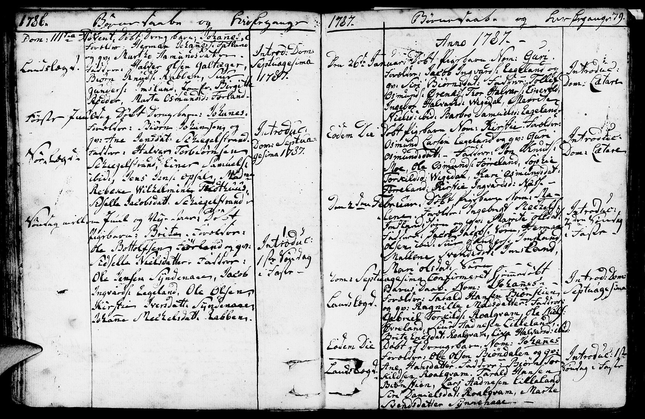 SAST, Vikedal sokneprestkontor, IV: Parish register (official) no. A 2, 1779-1817, p. 79