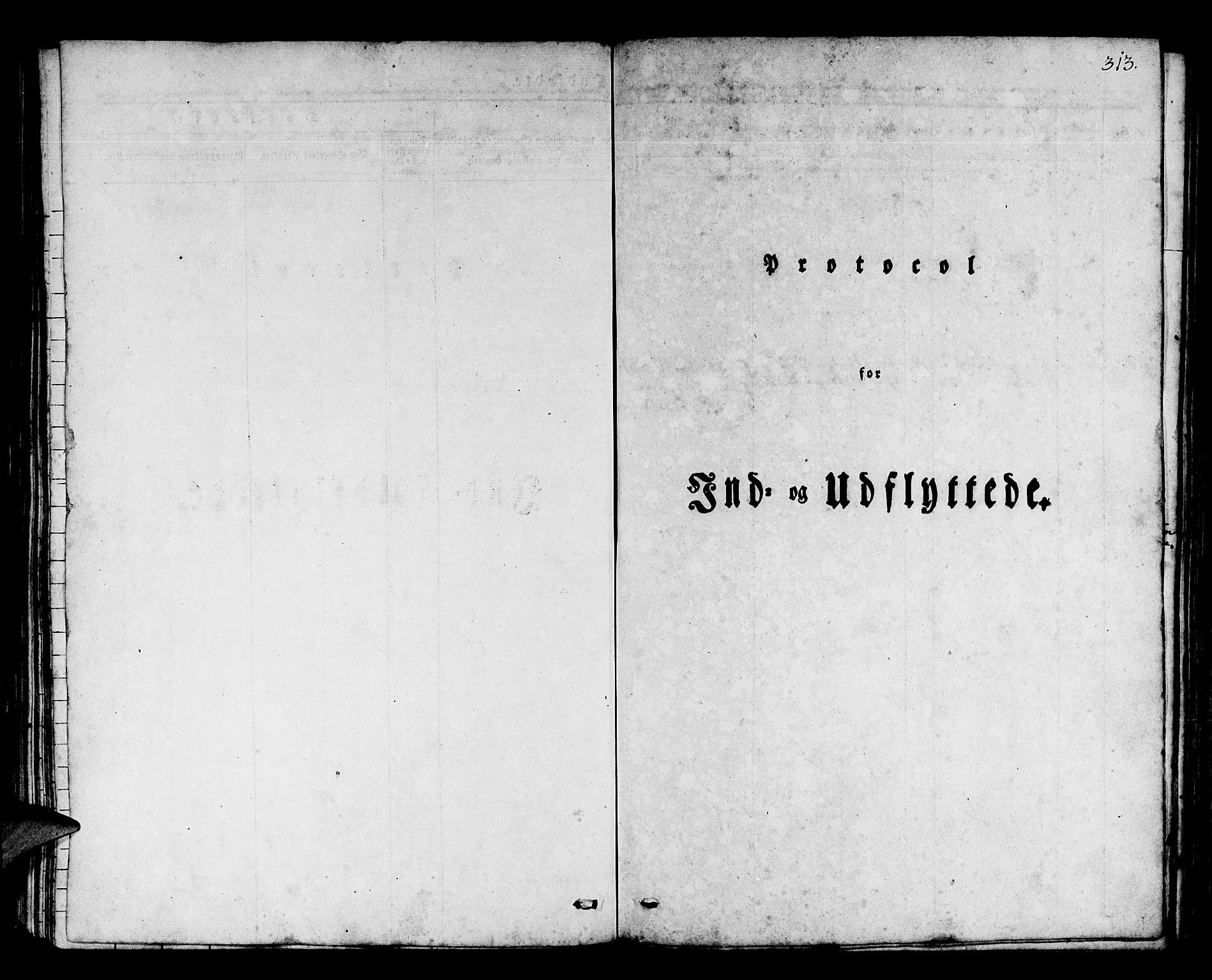 SAB, Os sokneprestembete*, Parish register (official) no. A 14, 1826-1839, p. 313