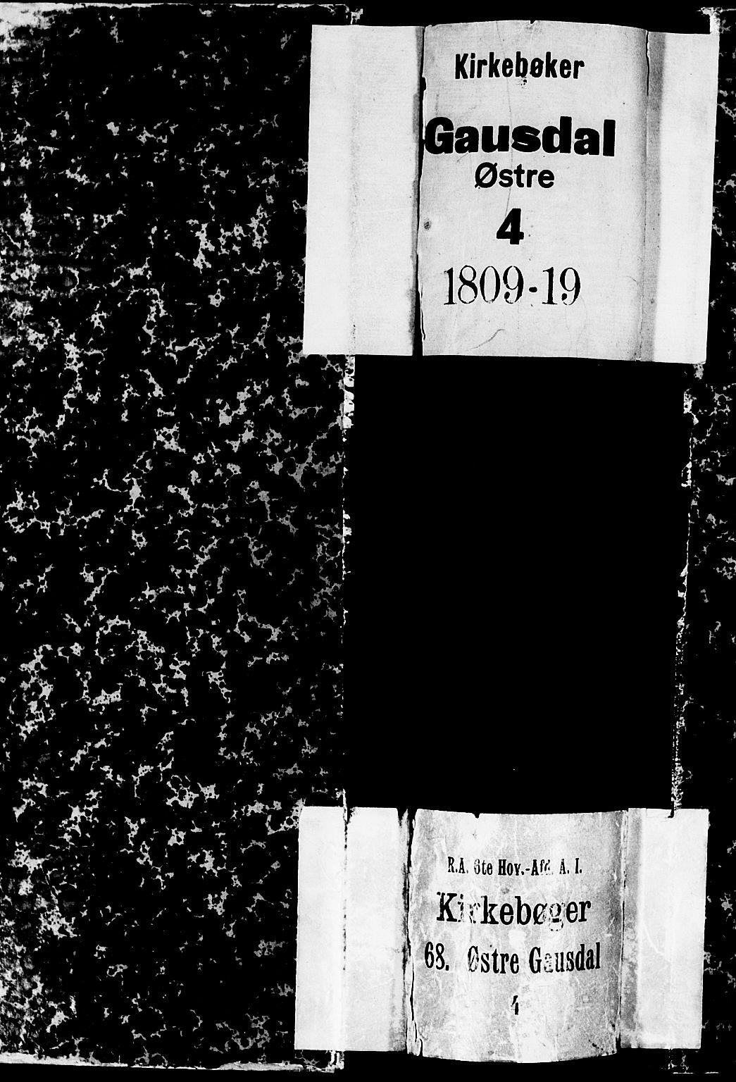 SAH, Gausdal prestekontor, Parish register (official) no. 4, 1809-1817